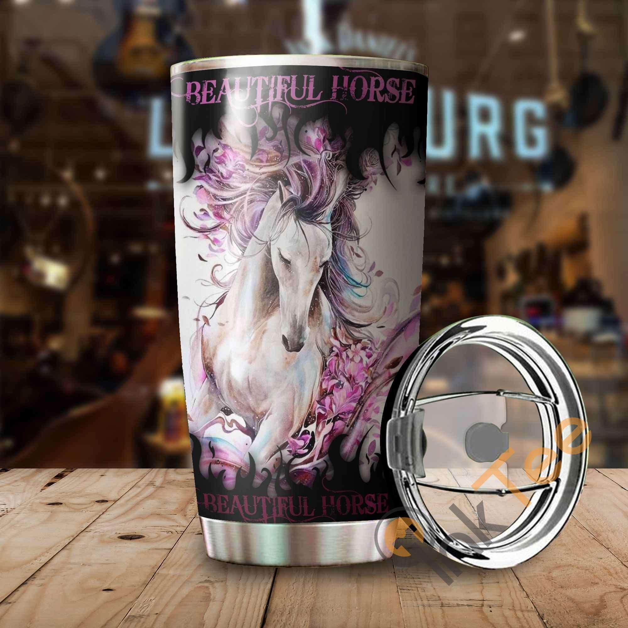 Beautiful Horse Amazon Best Seller Sku 3436 Stainless Steel Tumbler