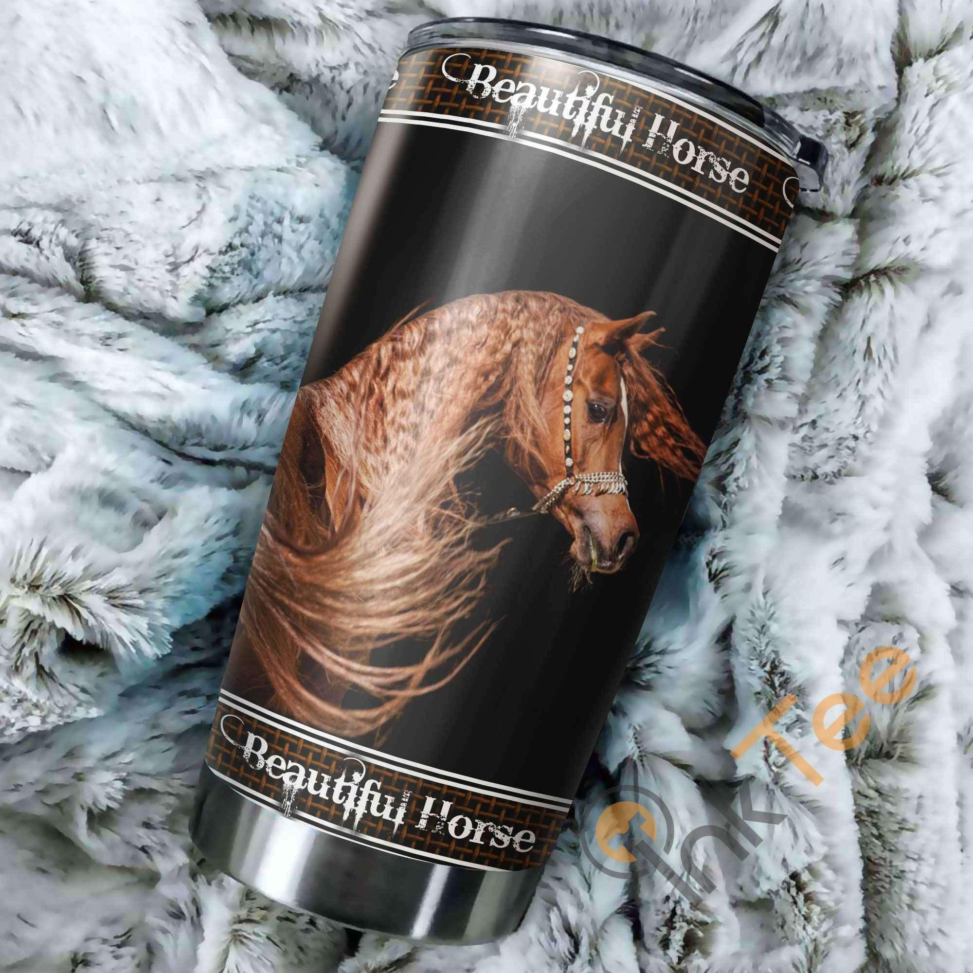 Beautiful Horse Amazon Best Seller Sku 3520 Stainless Steel Tumbler