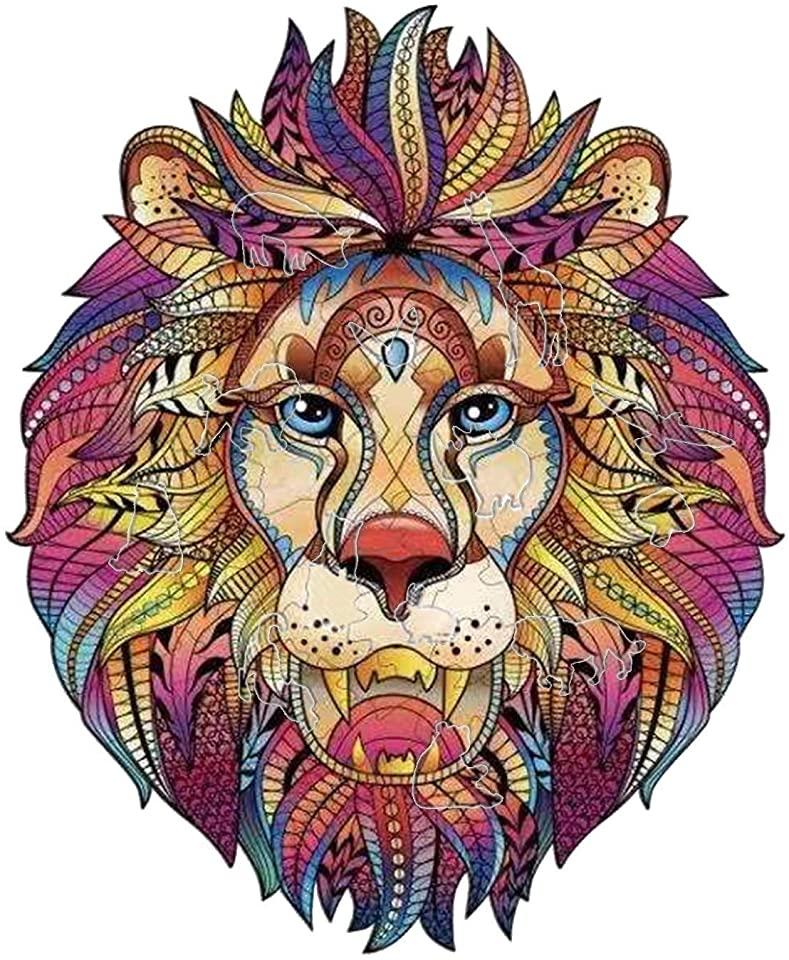 Beautiful Lion King Jigsaw Puzzle