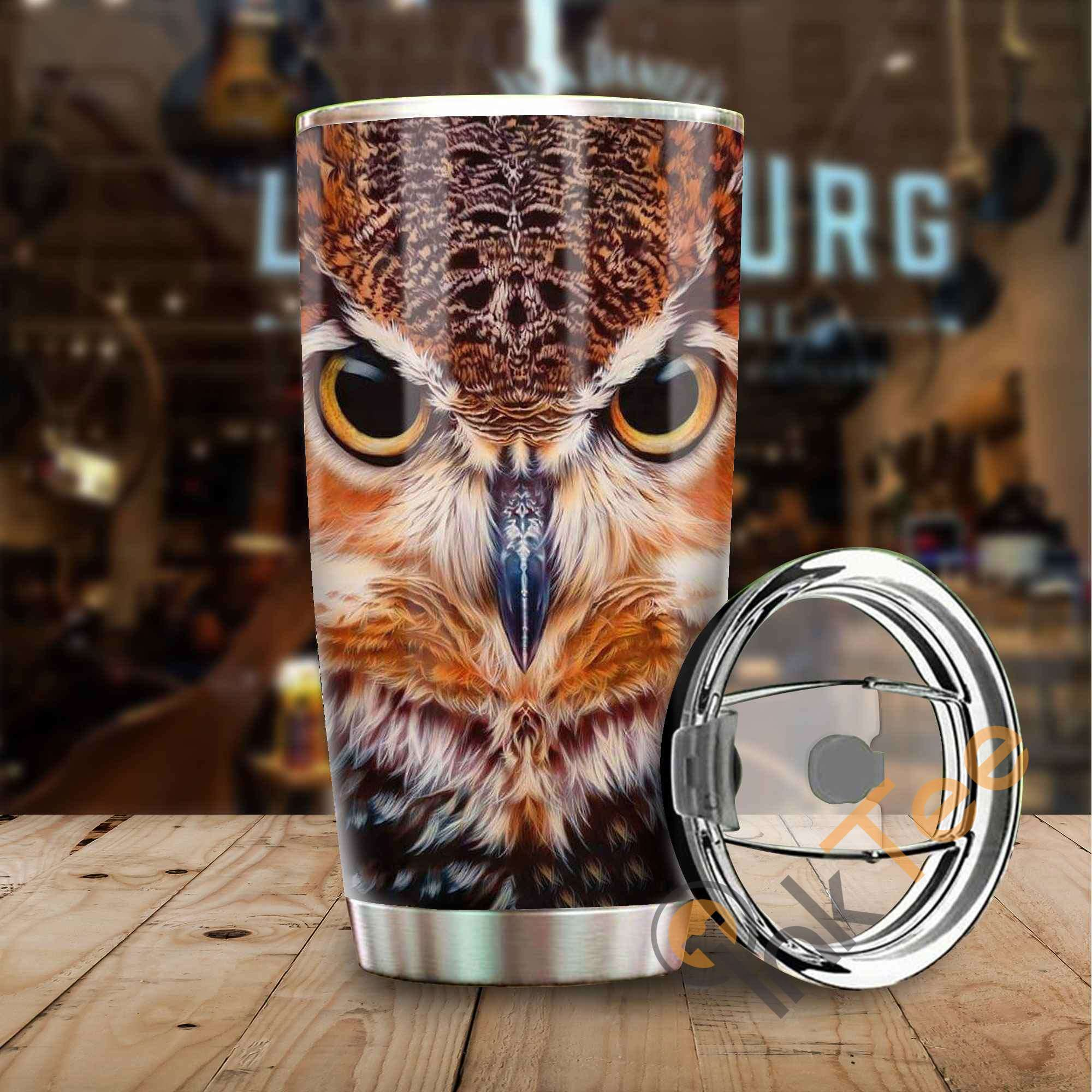 Beautiful Owl Amazon Best Seller Sku 3172 Stainless Steel Tumbler