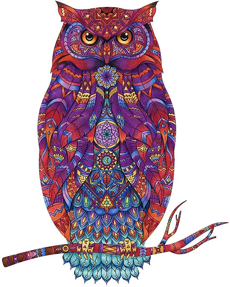 Beautiful Owl Jigsaw Puzzle