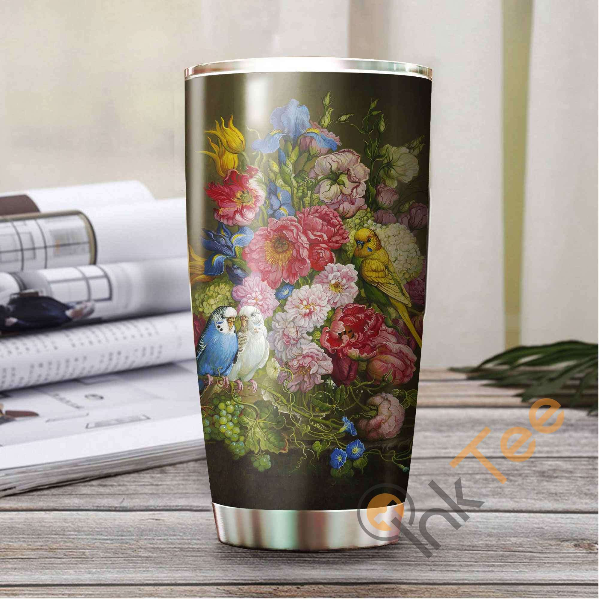 Beautiful Parrot Amazon Best Seller Sku 3105 Stainless Steel Tumbler