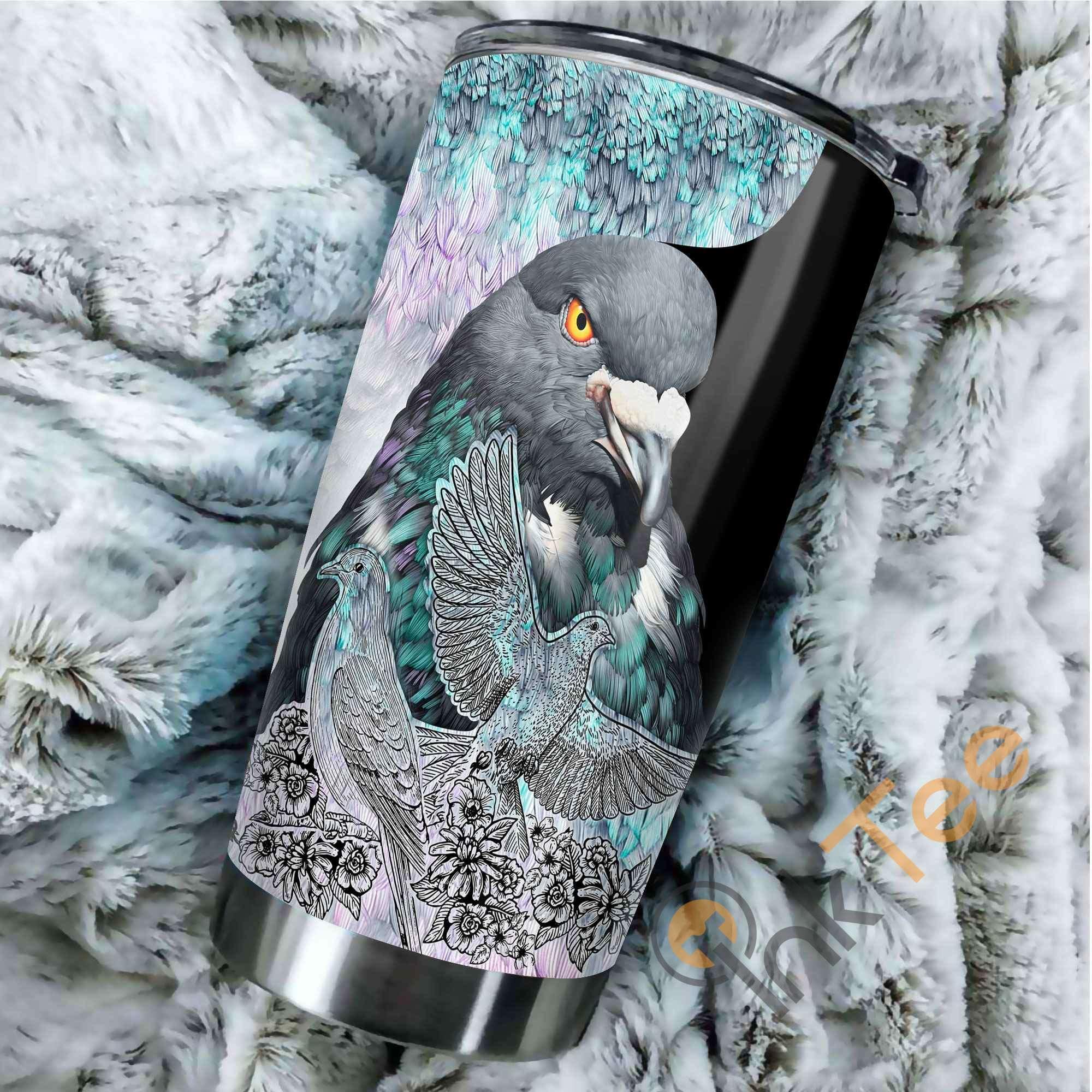 Beautiful Pigeon Amazon Best Seller Sku 3173 Stainless Steel Tumbler