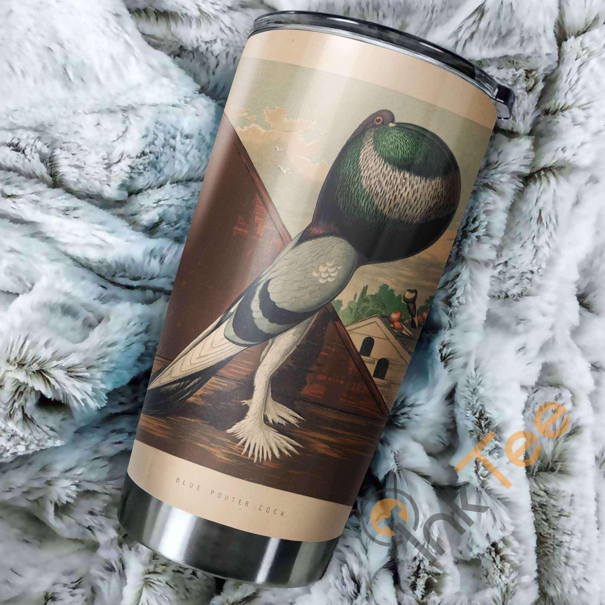 Beautiful Pigeon Amazon Best Seller Sku 3200 Stainless Steel Tumbler