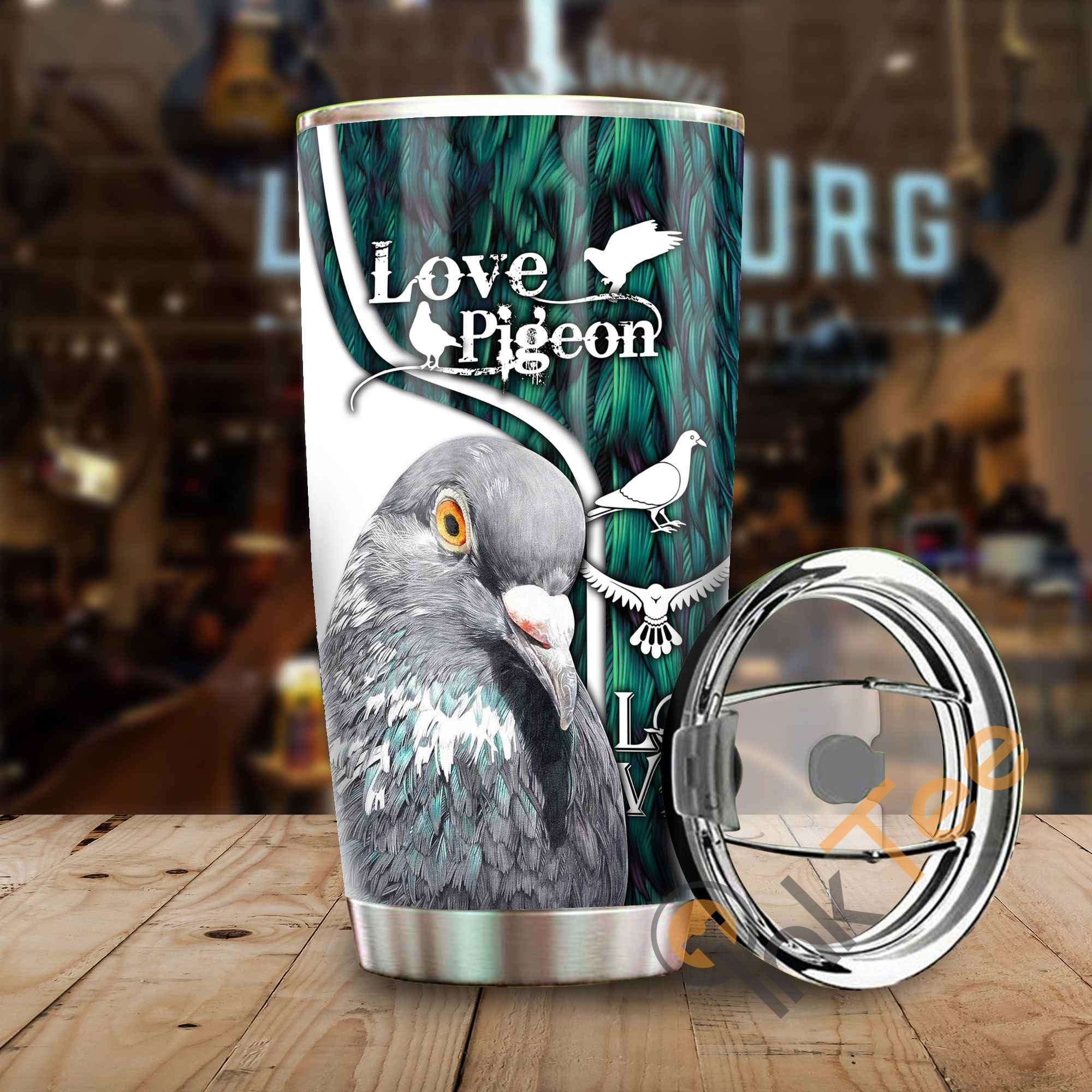Beautiful Pigeon Amazon Best Seller Sku 3480 Stainless Steel Tumbler