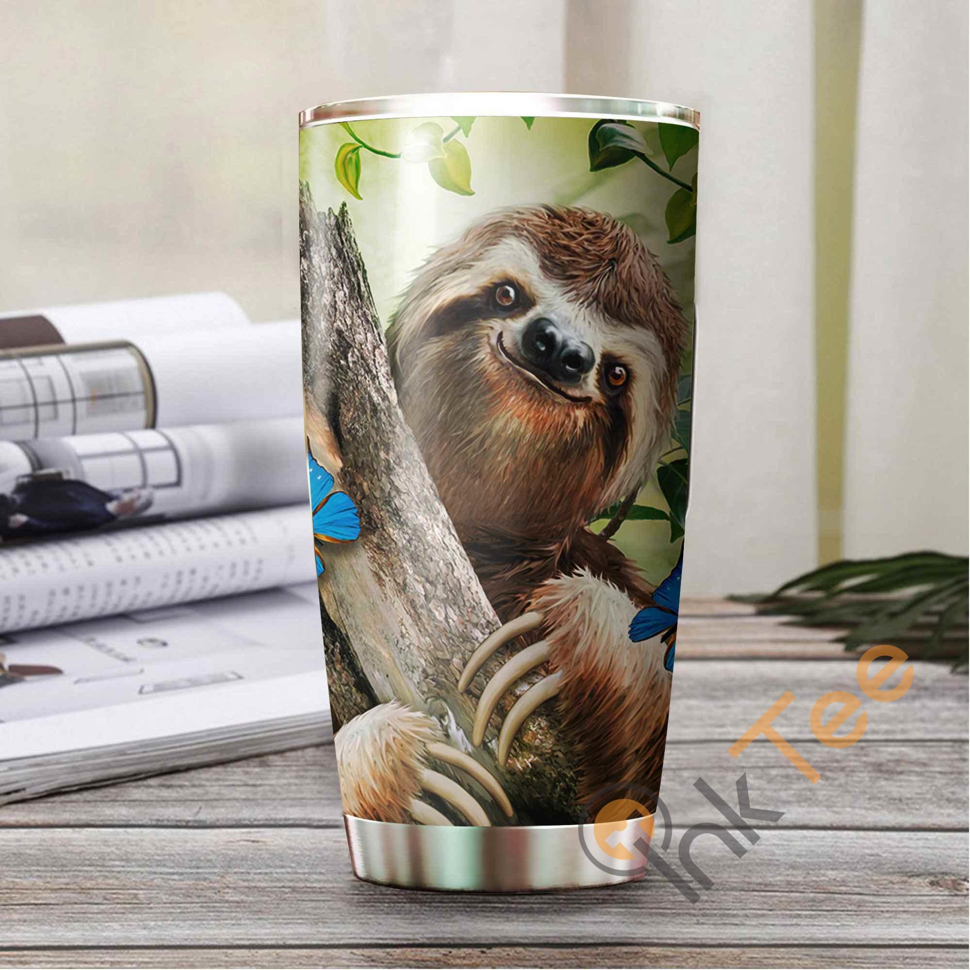 Beautiful Sloth Amazon Best Seller Sku 3251 Stainless Steel Tumbler