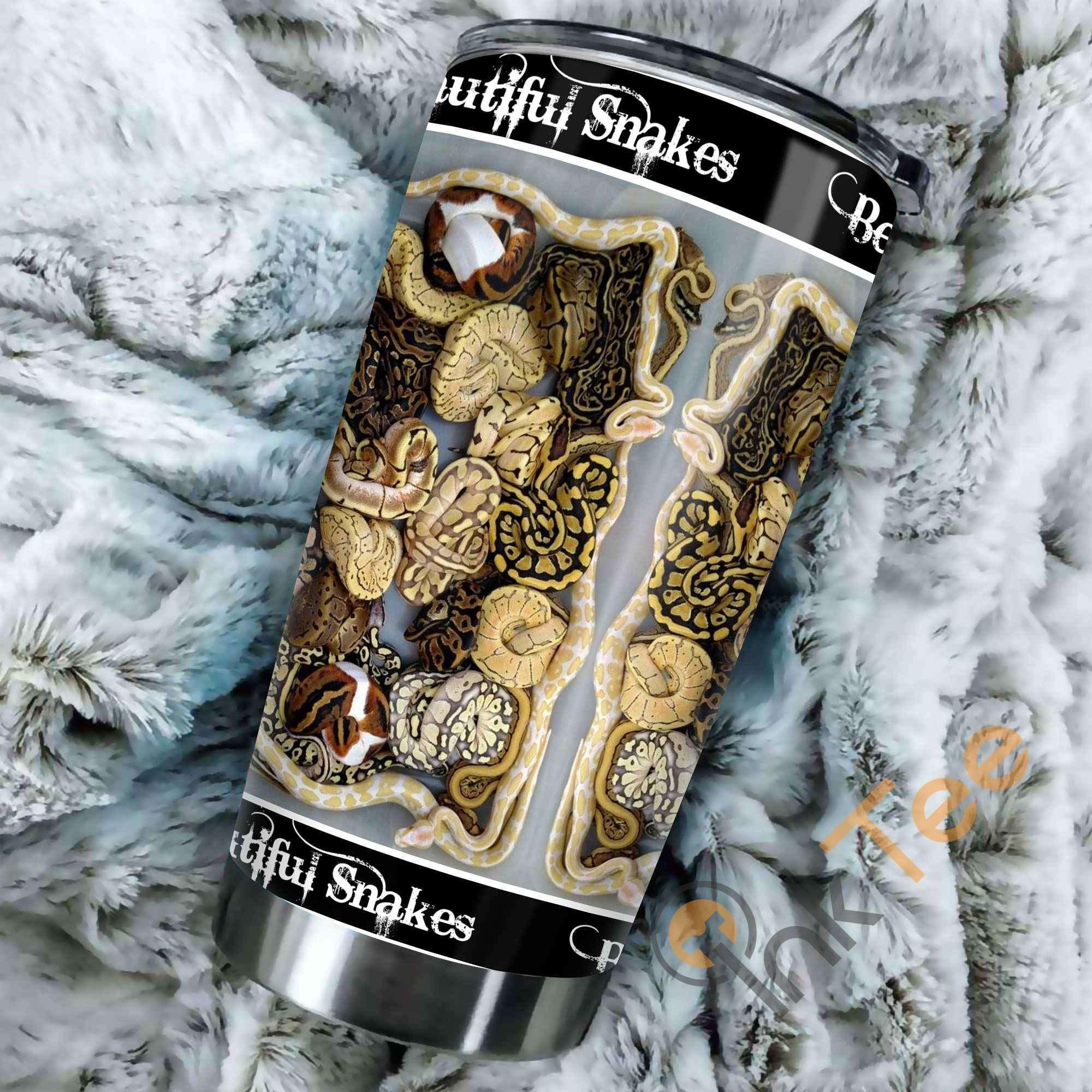 Beautiful Snakes Amazon Best Seller Sku 3603 Stainless Steel Tumbler