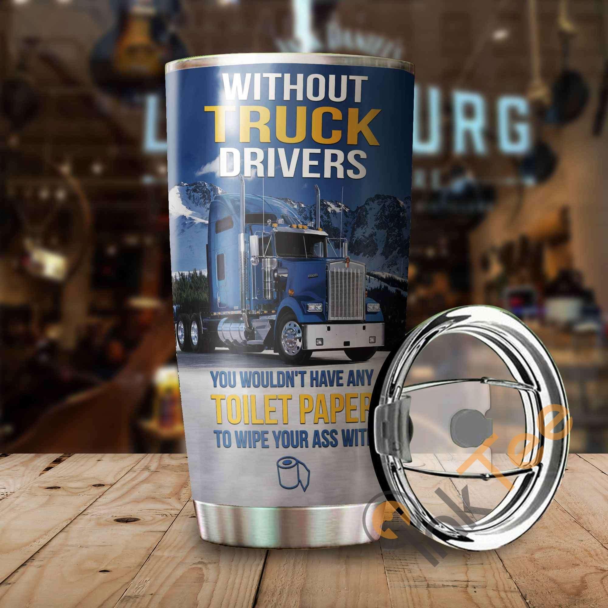 Beautiful Truck Amazon Best Seller Sku 3066 Stainless Steel Tumbler