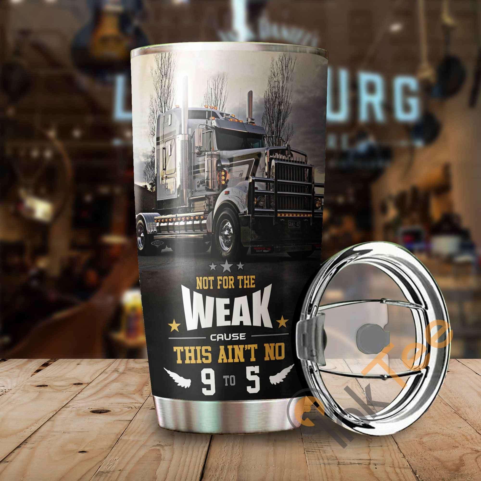 Beautiful Truck Stainless Steel Tumbler