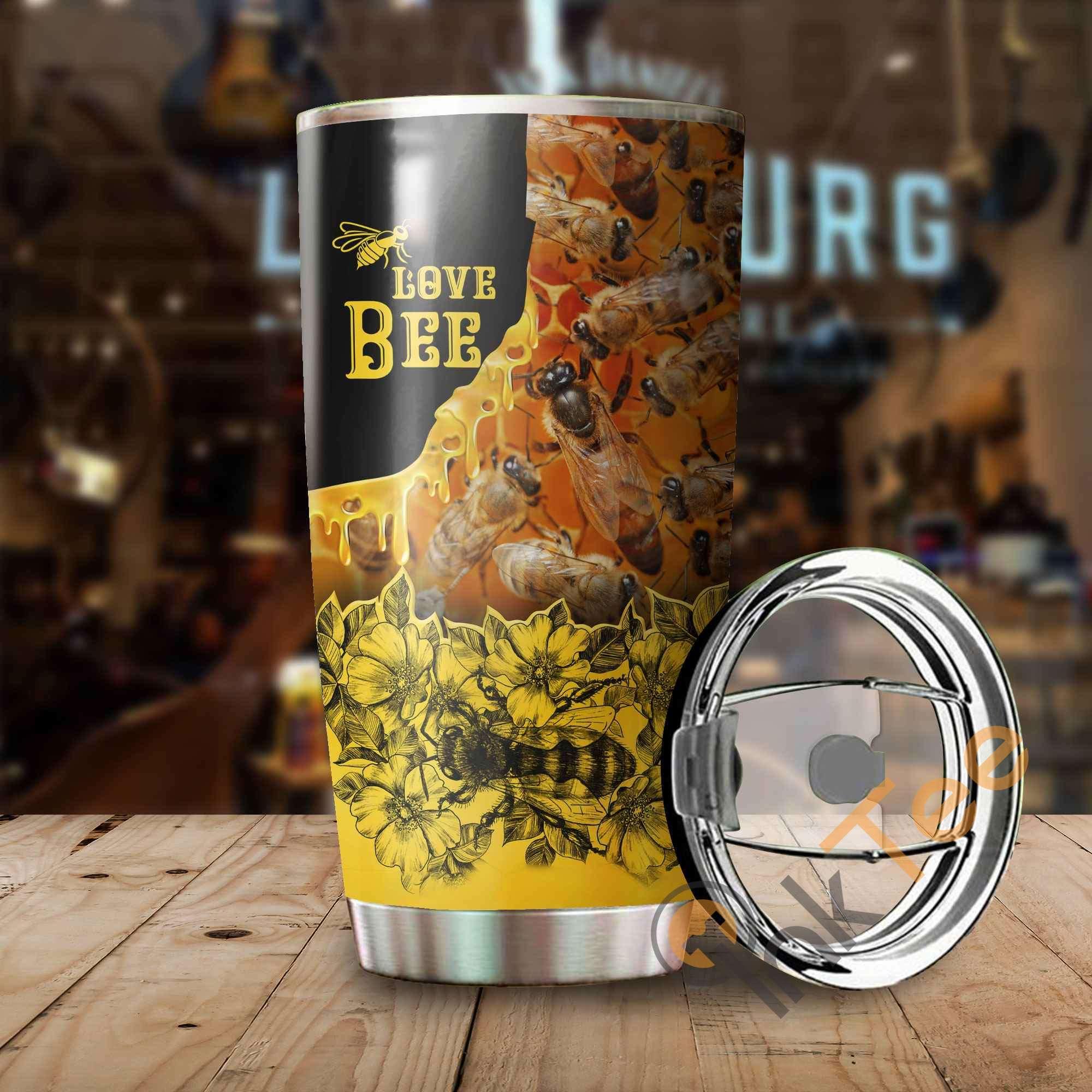 Bee Honey Amazon Best Seller Sku 2653 Stainless Steel Tumbler