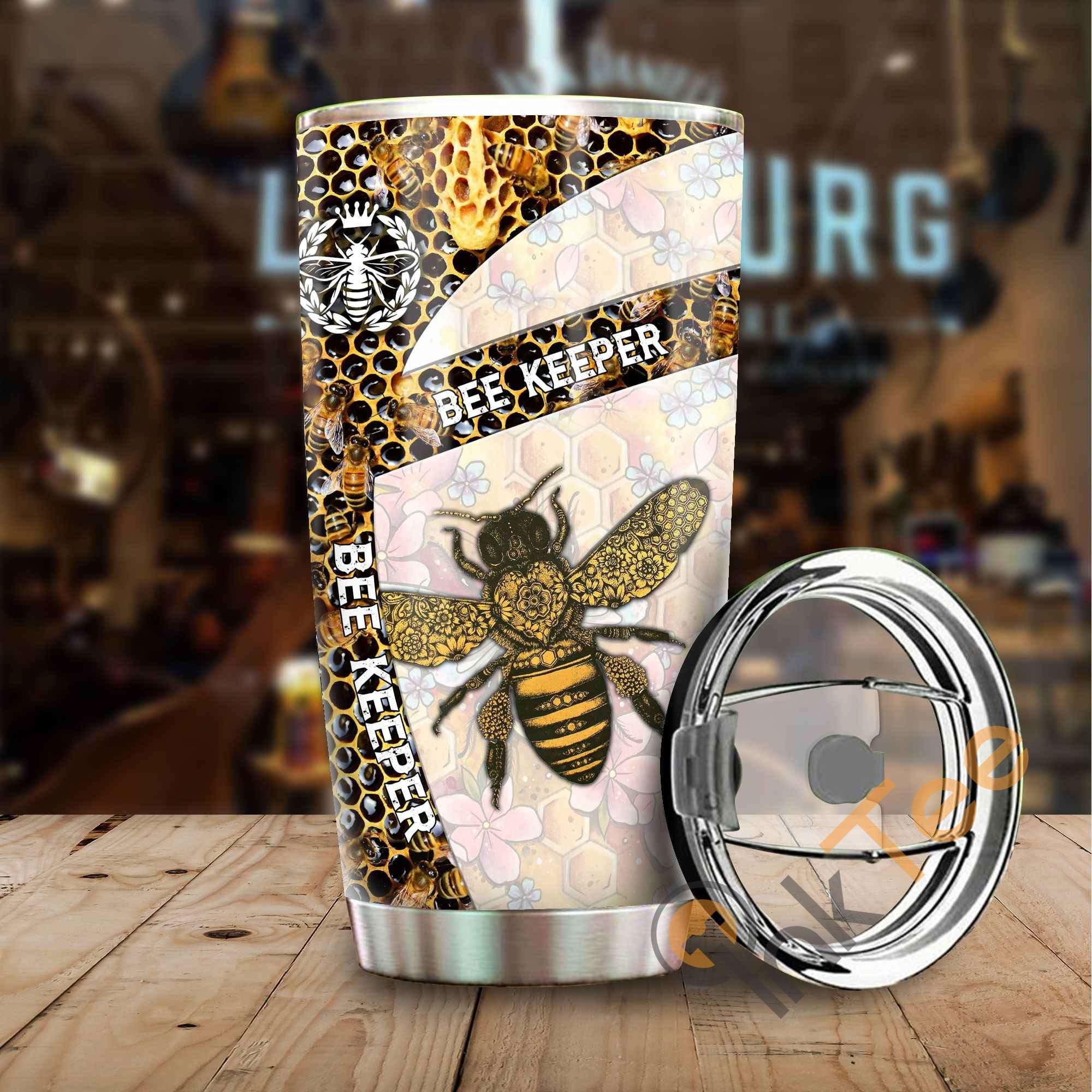 Bee Keeper Stainless Steel Tumbler