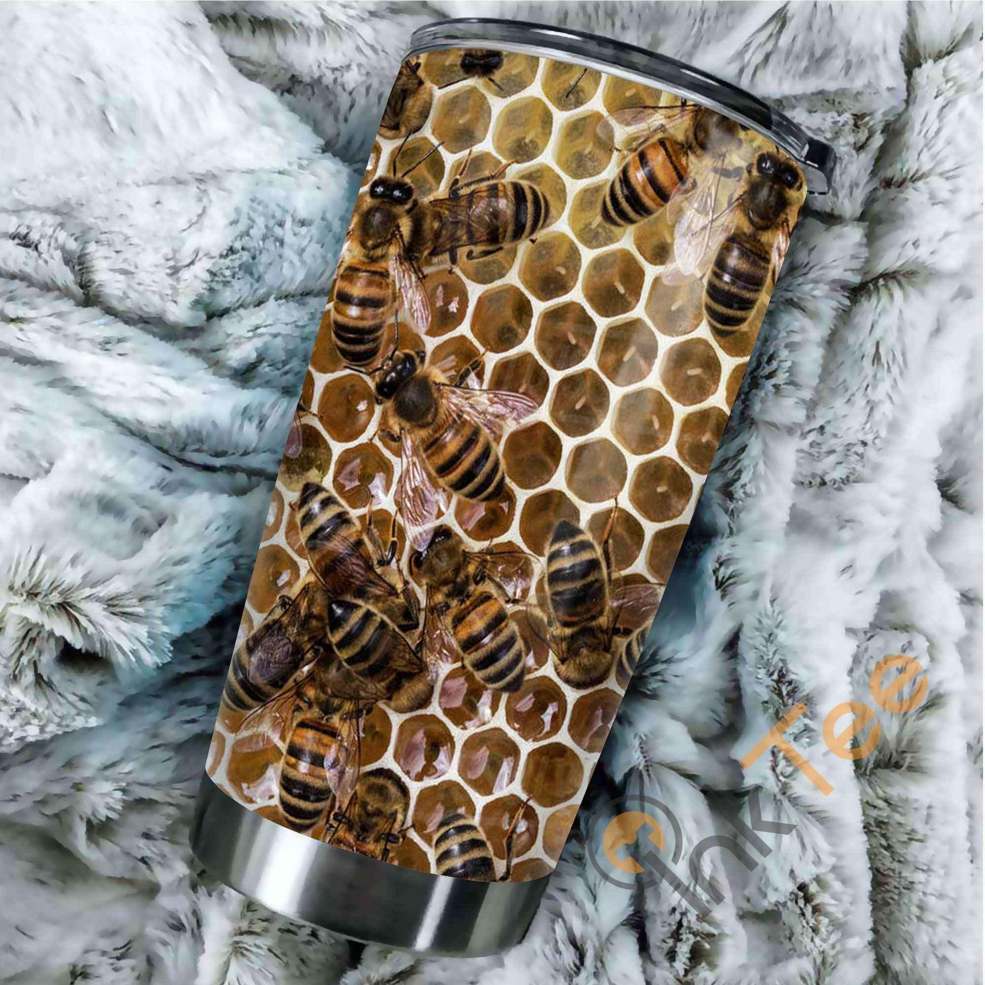 Bees Hive Amazon Best Seller Sku 2522 Stainless Steel Tumbler
