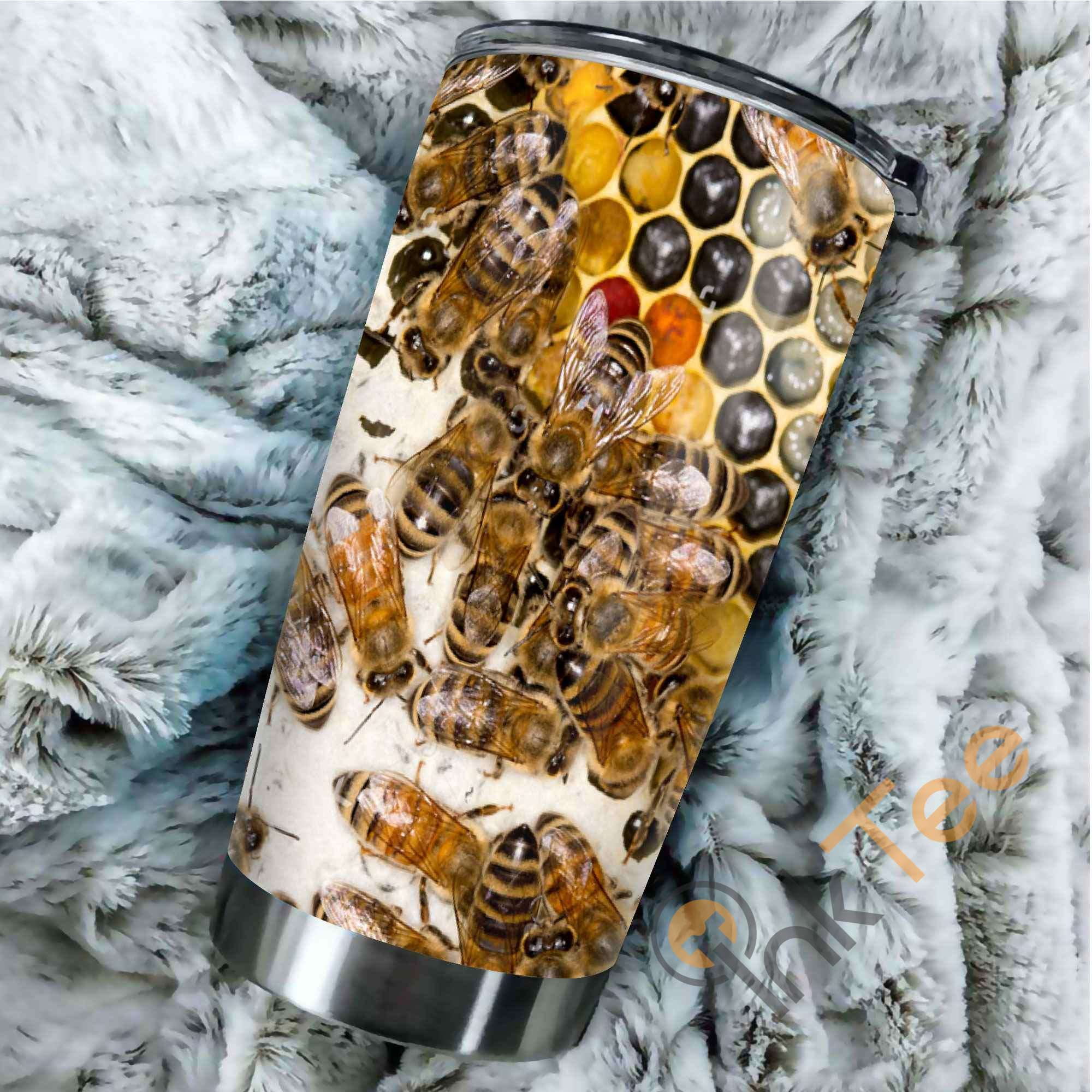 Bees Hive Amazon Best Seller Sku 3450 Stainless Steel Tumbler