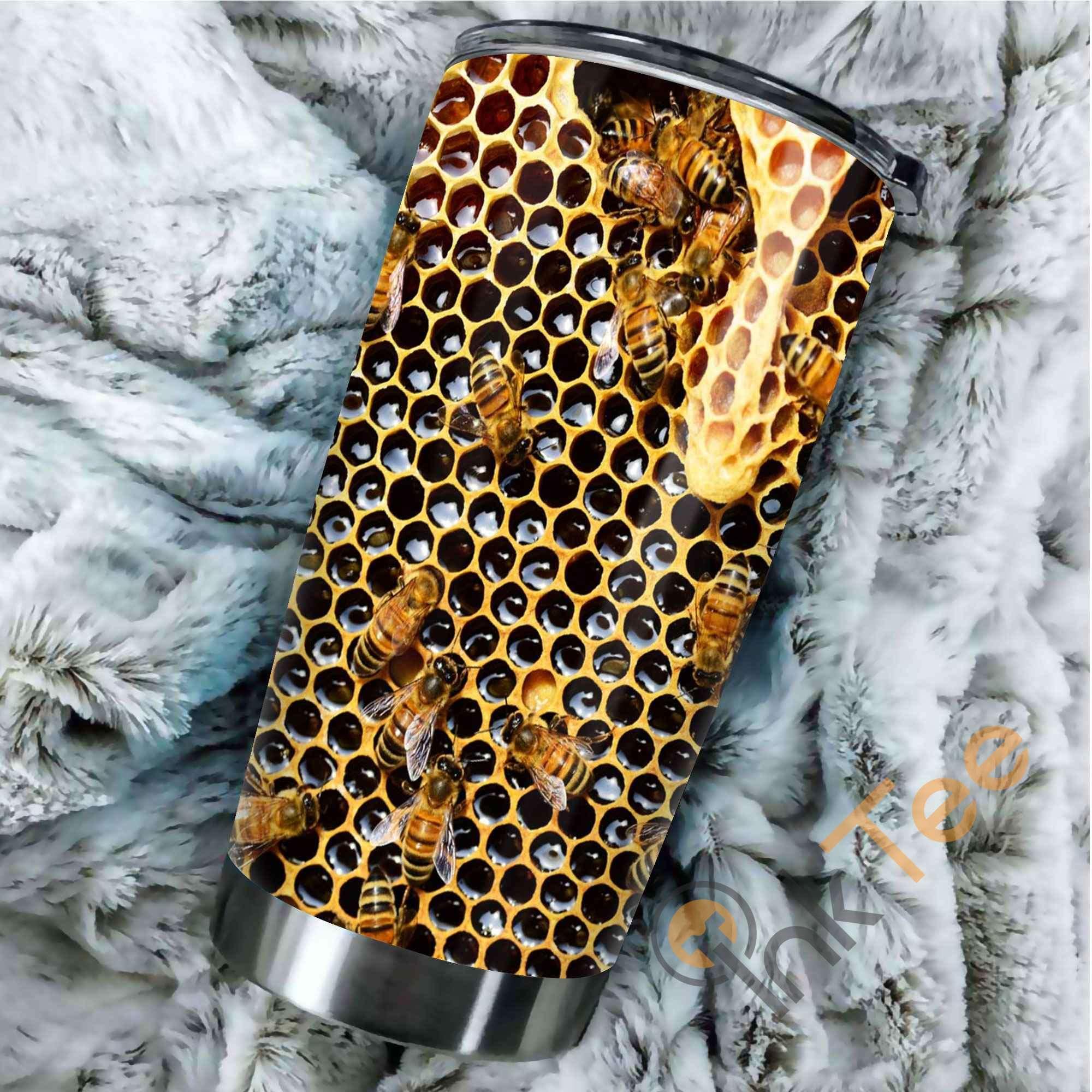 Bees Hive Amazon Best Seller Sku 3870 Stainless Steel Tumbler
