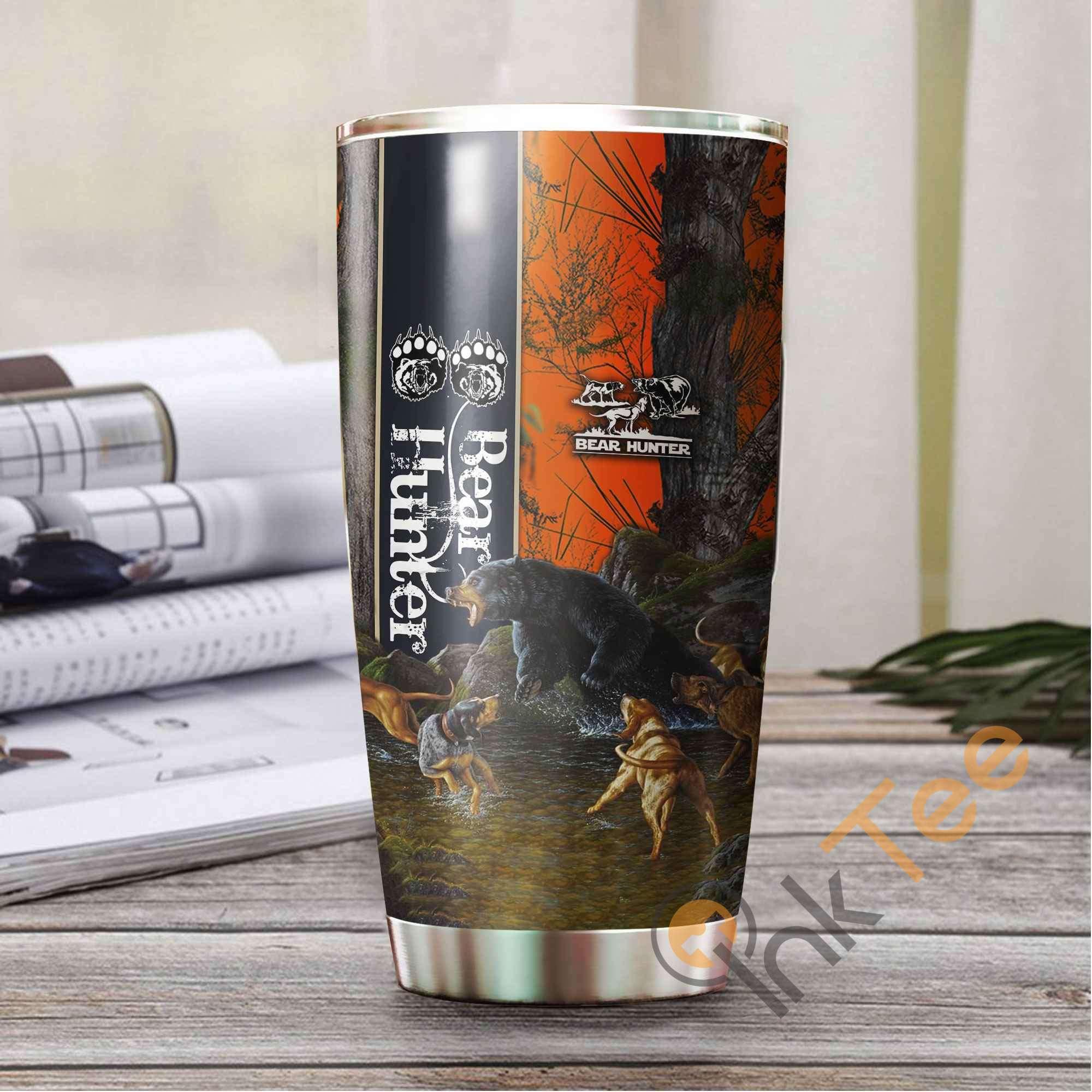 Black Bear Hunting Amazon Best Seller Sku 3023 Stainless Steel Tumbler