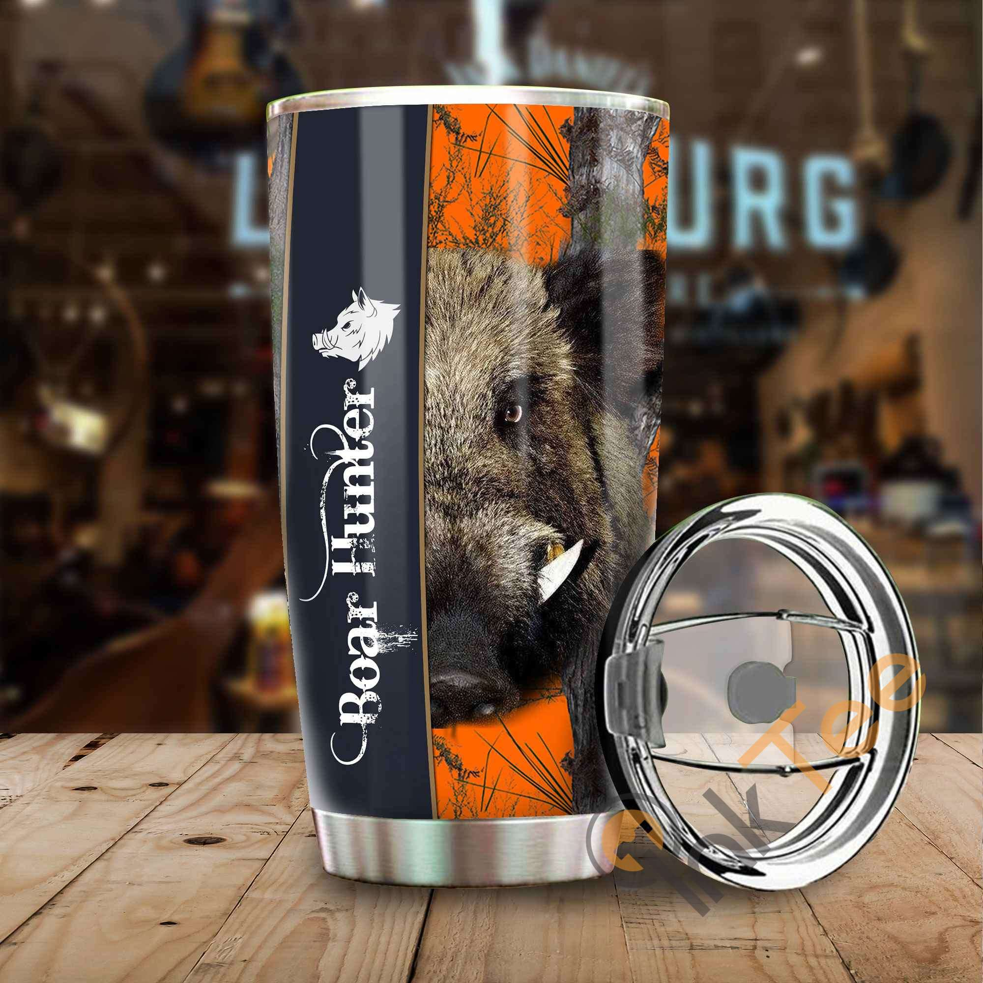 Boar Hunter Amazon Best Seller Sku 3546 Stainless Steel Tumbler
