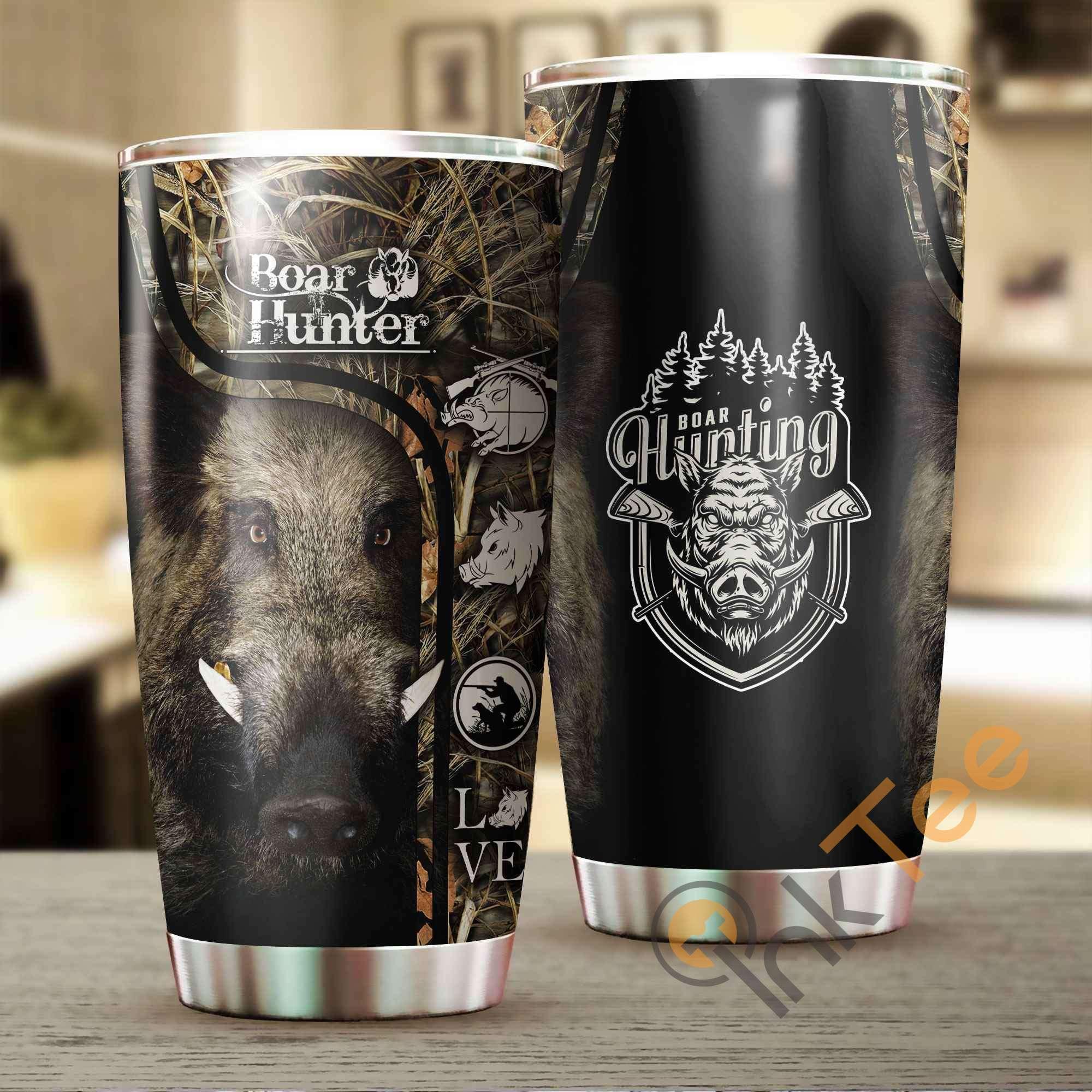 Boar Hunter Amazon Best Seller Sku 3796 Stainless Steel Tumbler
