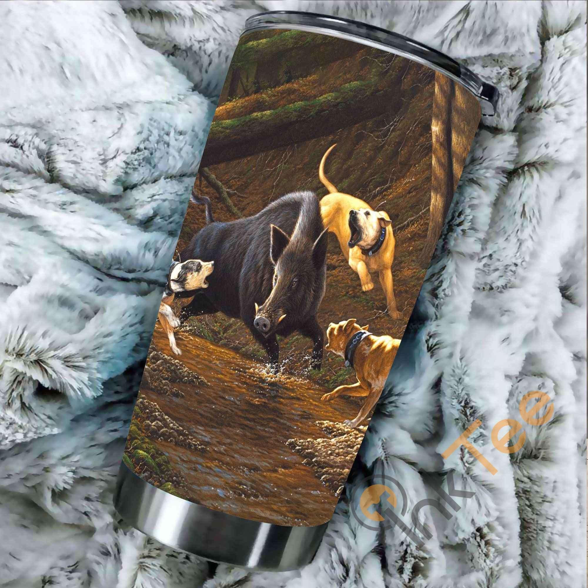 Boar Hunter Stainless Steel Tumbler