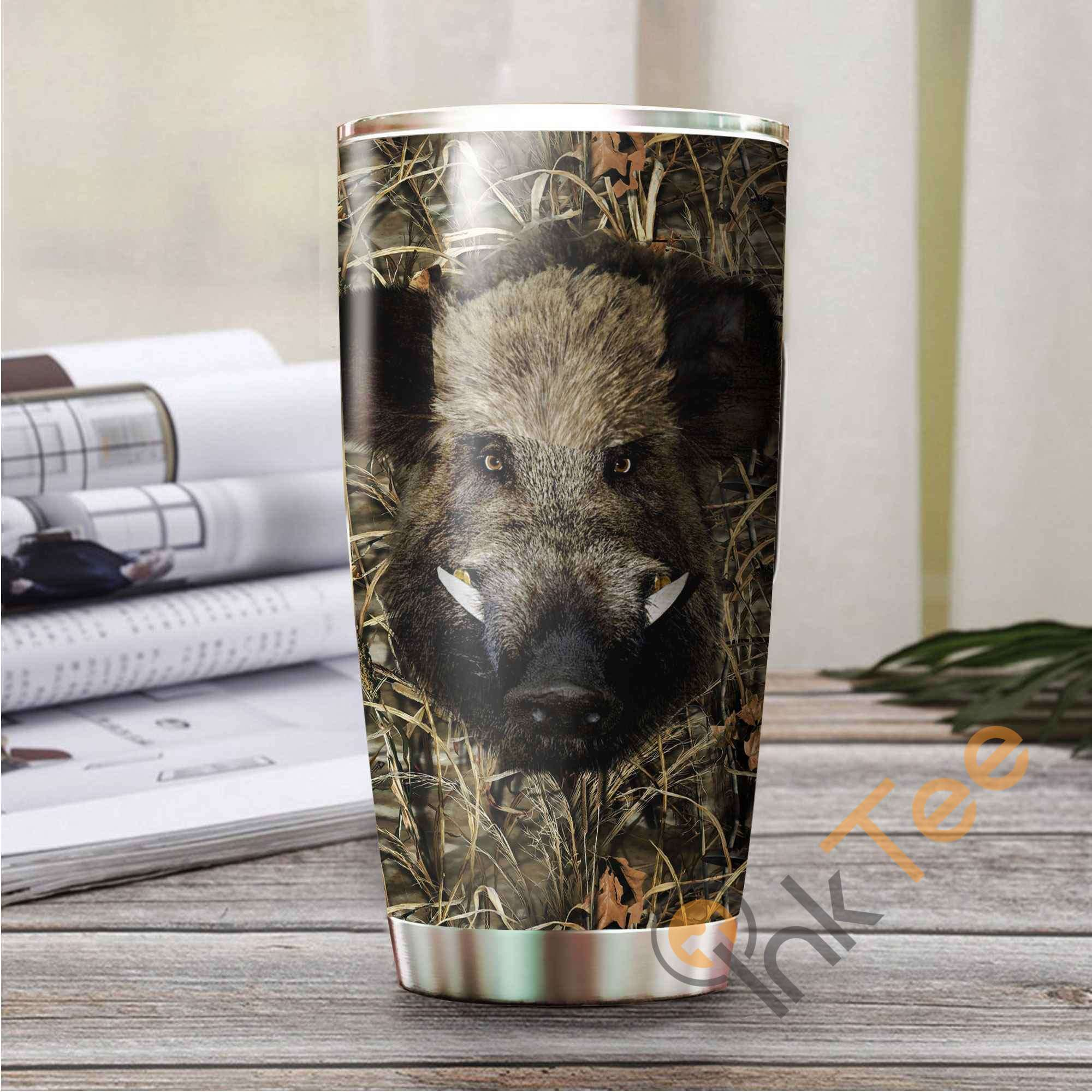 Boar Hunting Amazon Best Seller Sku 3358 Stainless Steel Tumbler