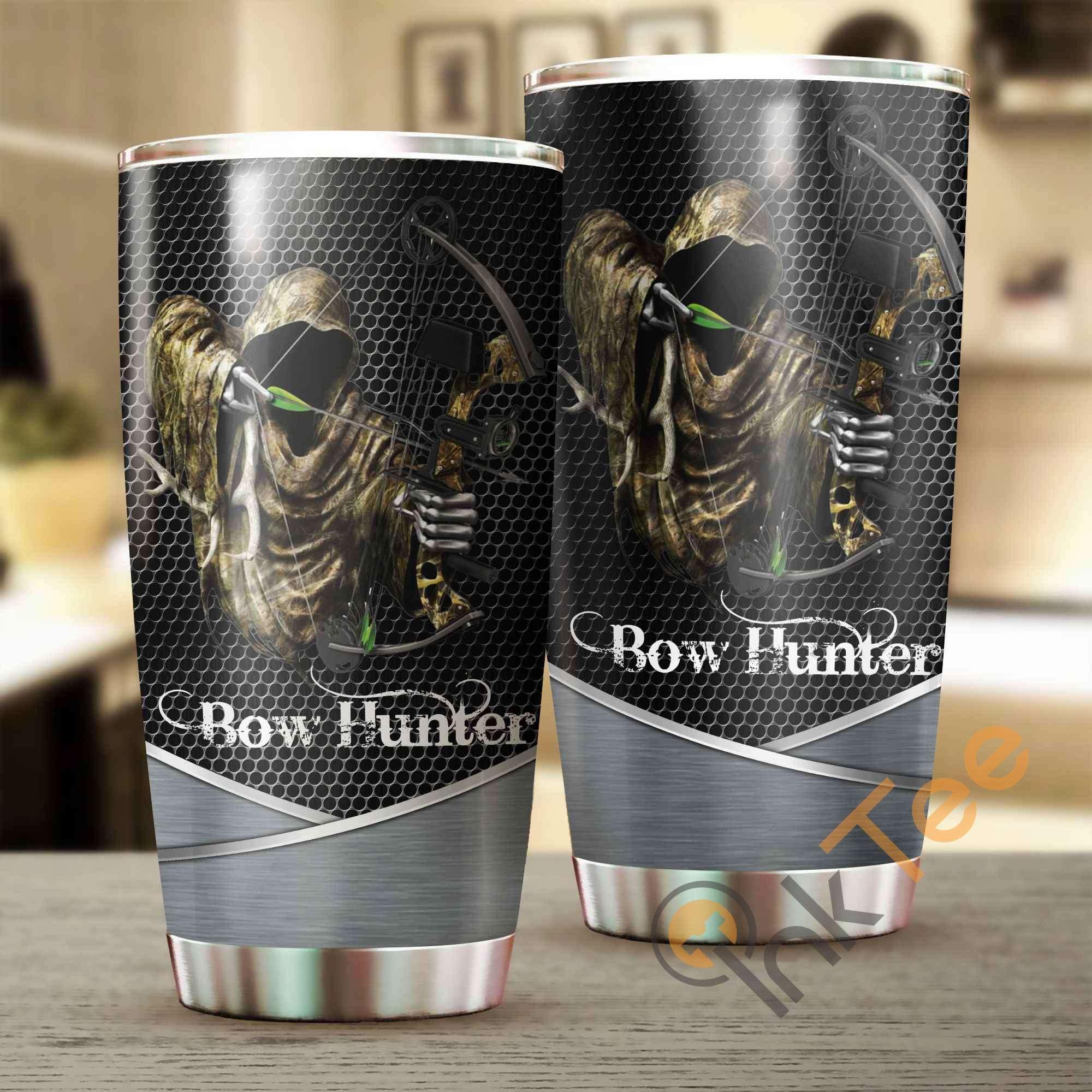 Bow Hunter Metal Amazon Best Seller Sku 3133 Stainless Steel Tumbler