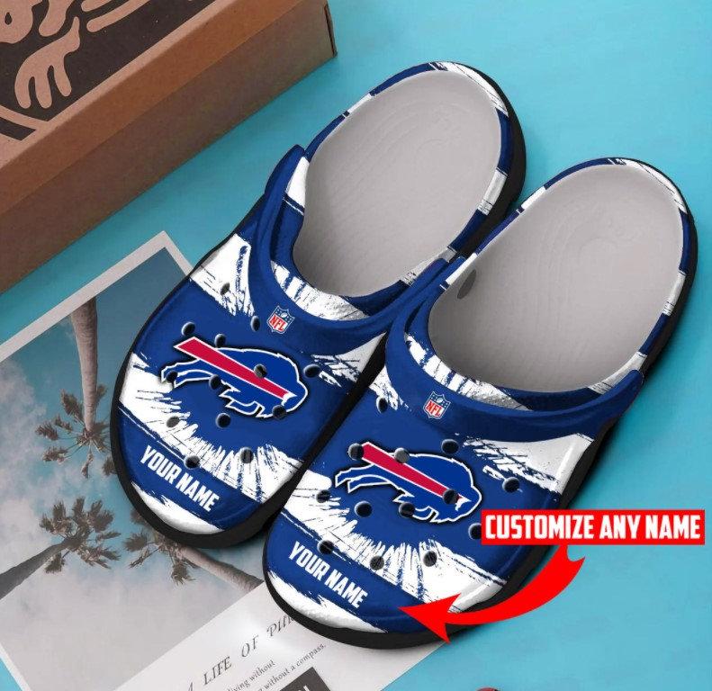 Buffalo Bills Personalized Crocs Clog Shoes