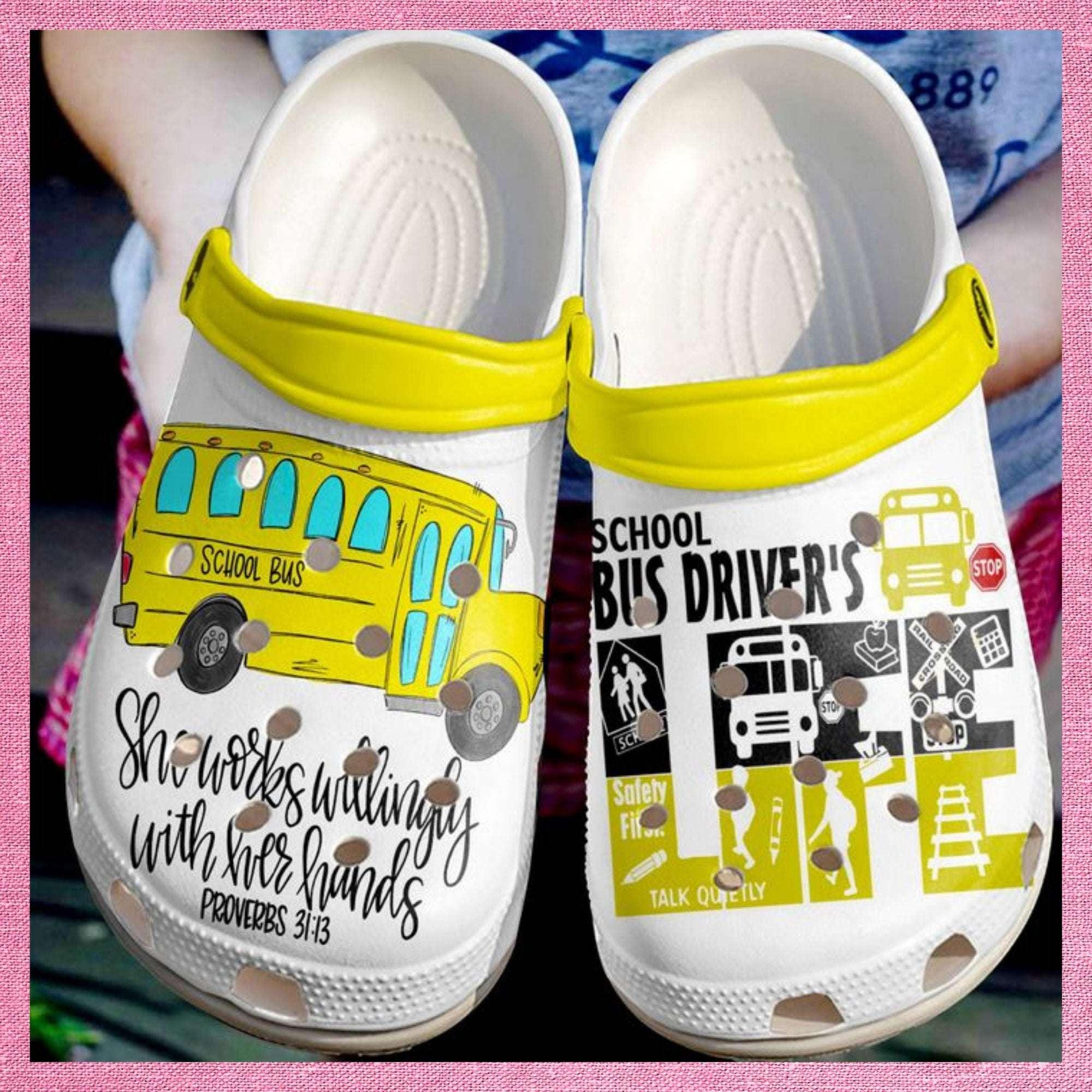 Bus Driver Life Crocs Clog Shoes