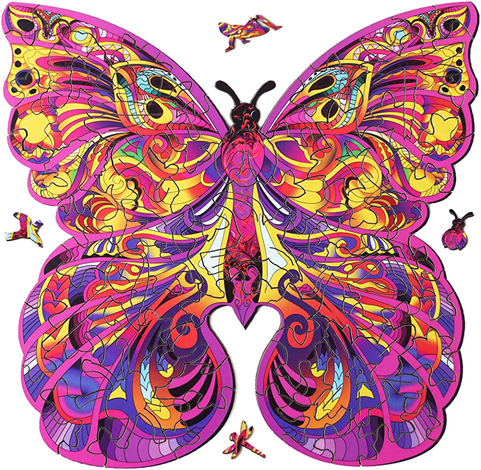 Butterfly From Forest Glade Jigsaw Puzzle