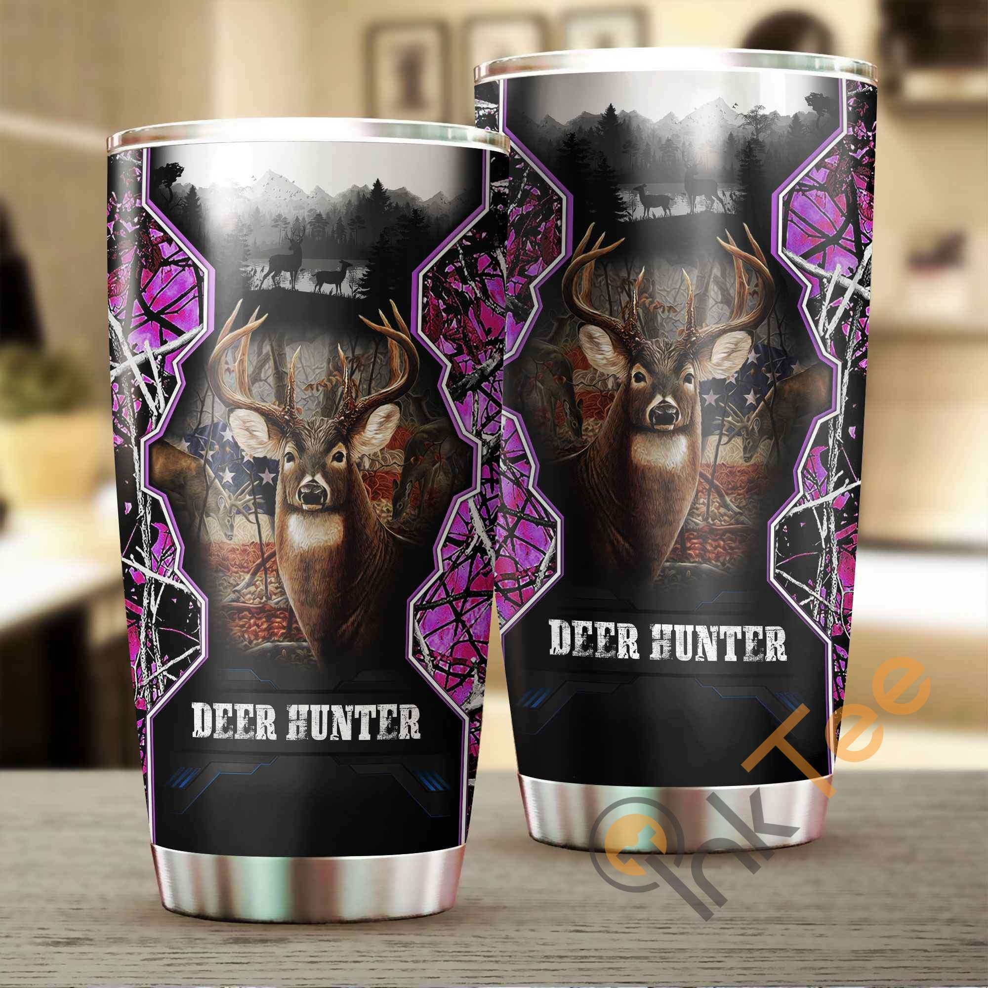 Camo Hunting Stainless Steel Tumbler