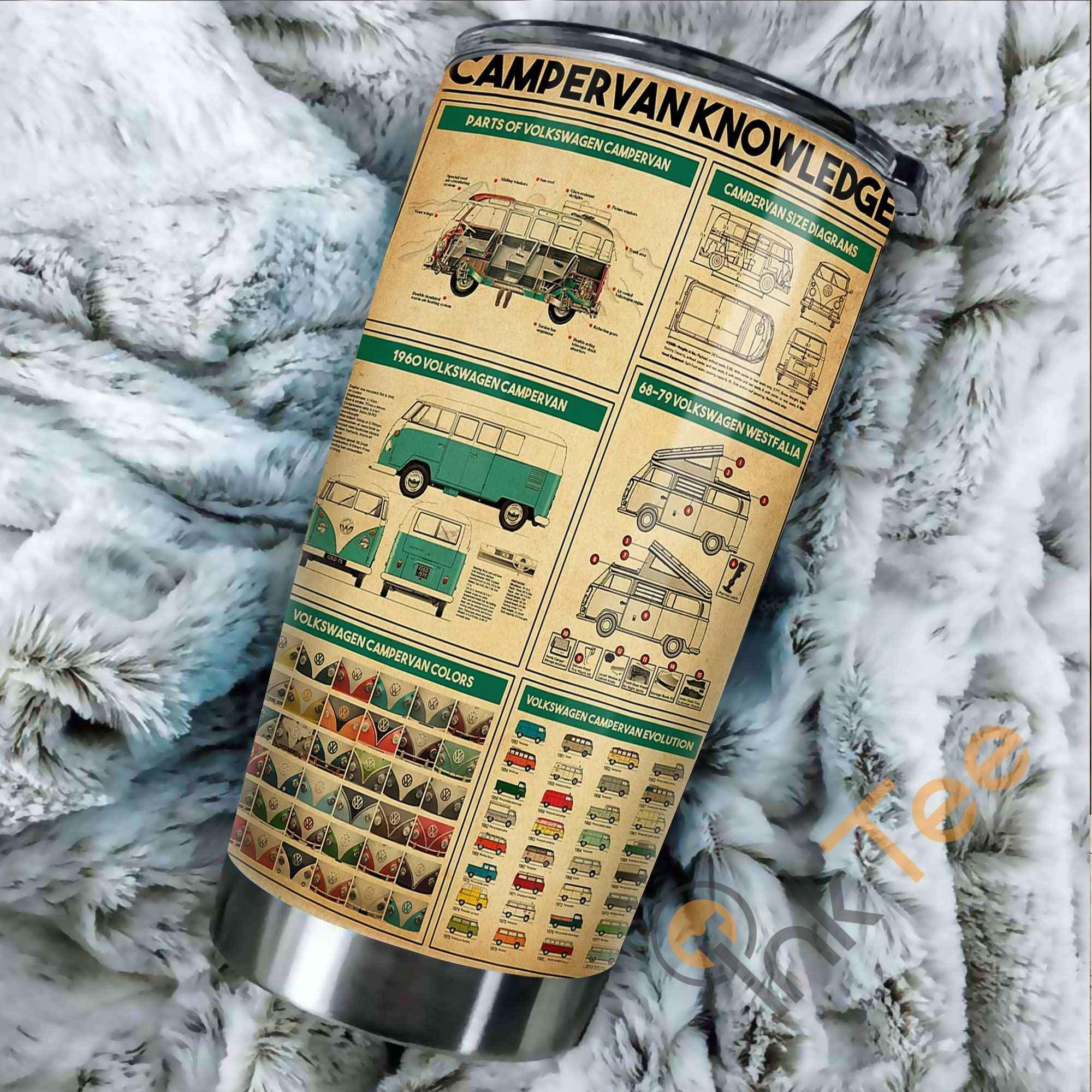 Campervan Knowledge Vertical Amazon Best Seller Sku 3285 Stainless Steel Tumbler