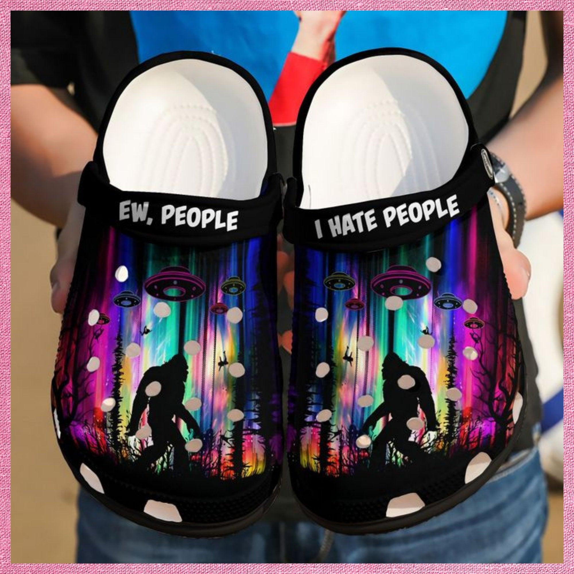 Camping Ew People Crocs Clog Shoes