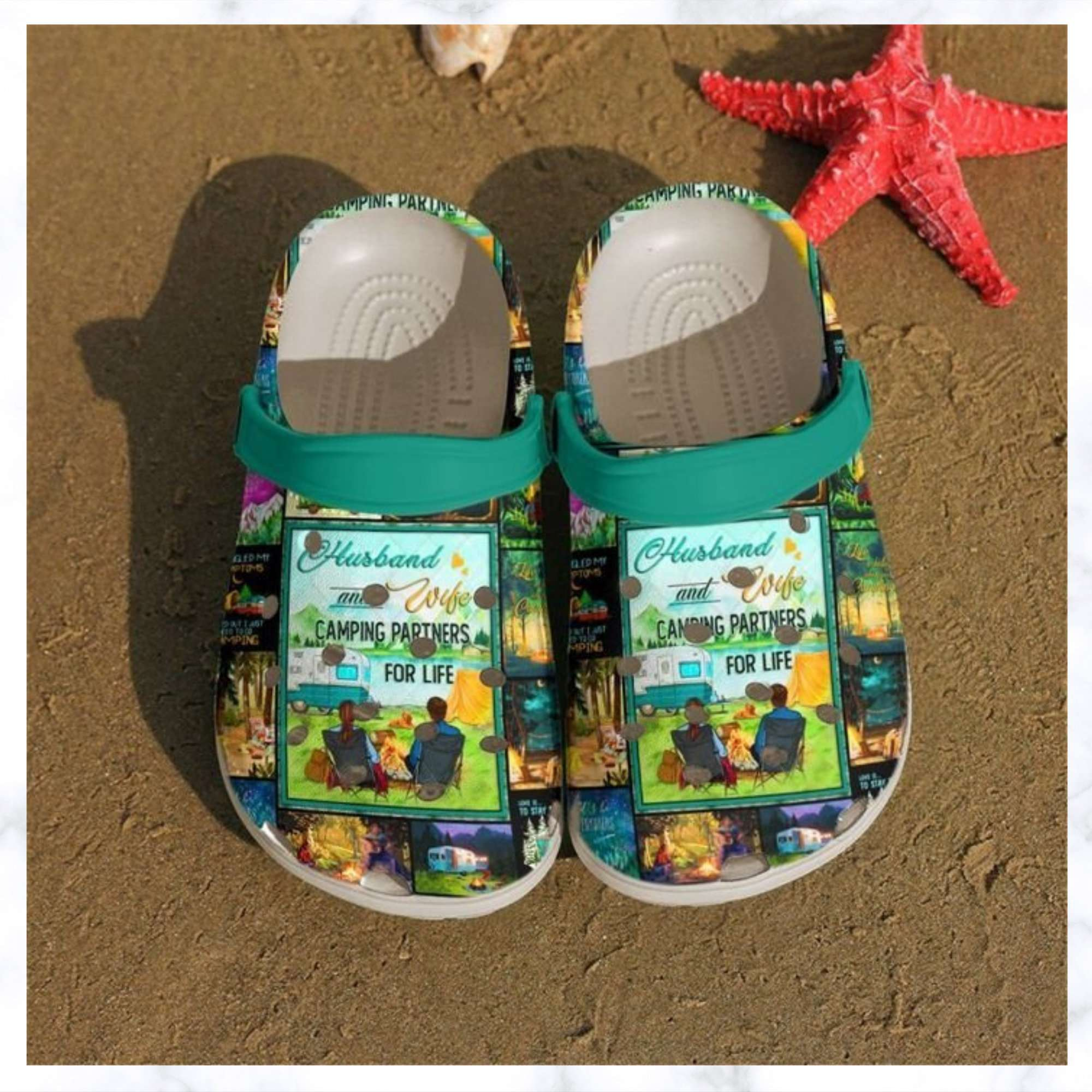 Camping Partner Crocs Clog Shoes