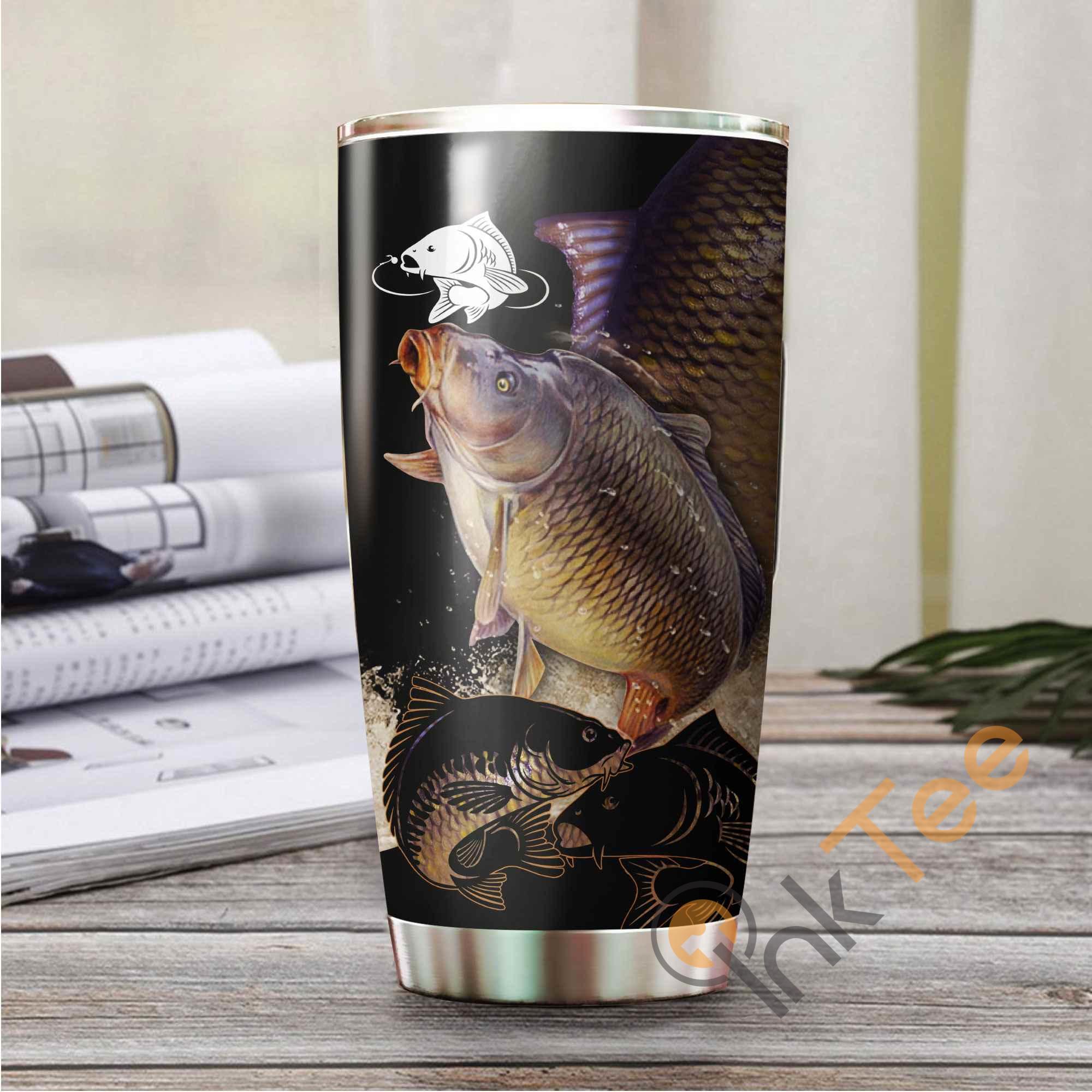 Carp Fishing Amazon Best Seller Sku 3189 Stainless Steel Tumbler