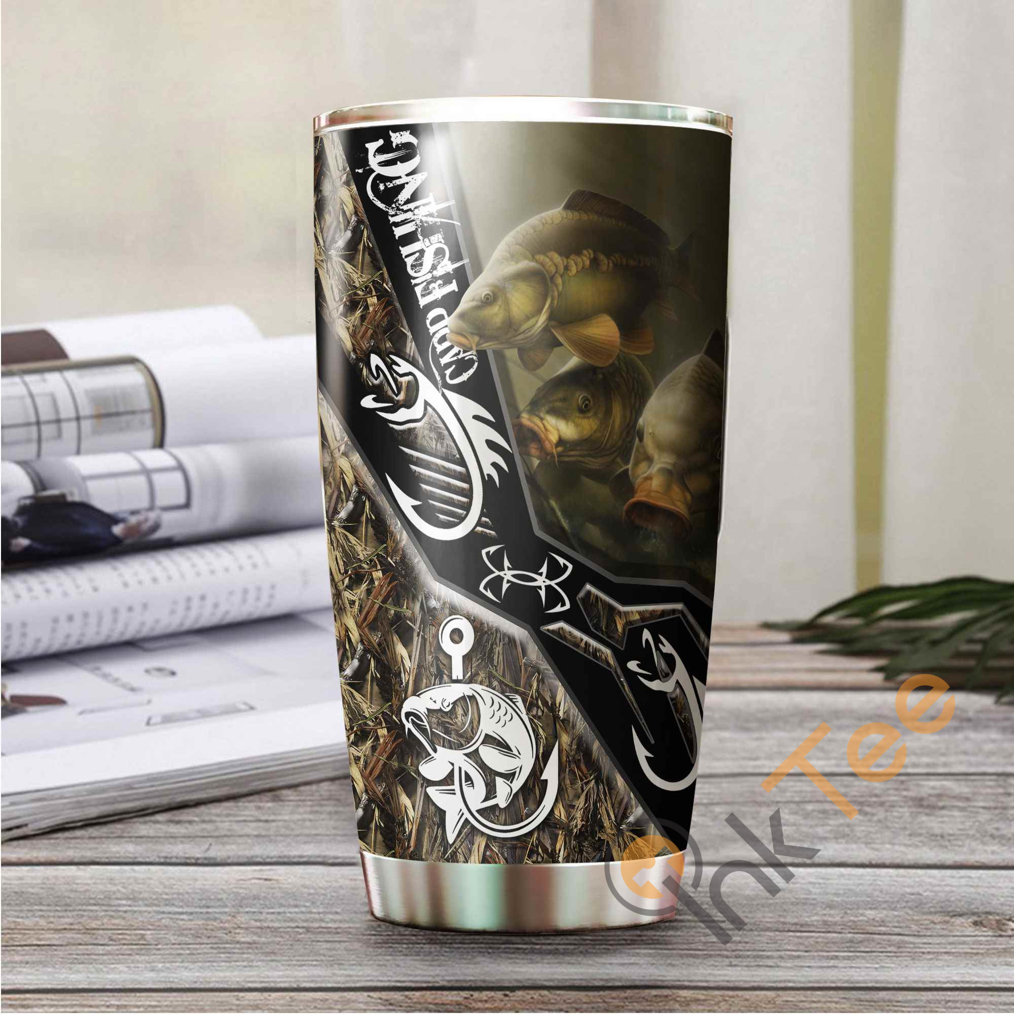 Carp Fishing Amazon Best Seller Sku 3370 Stainless Steel Tumbler