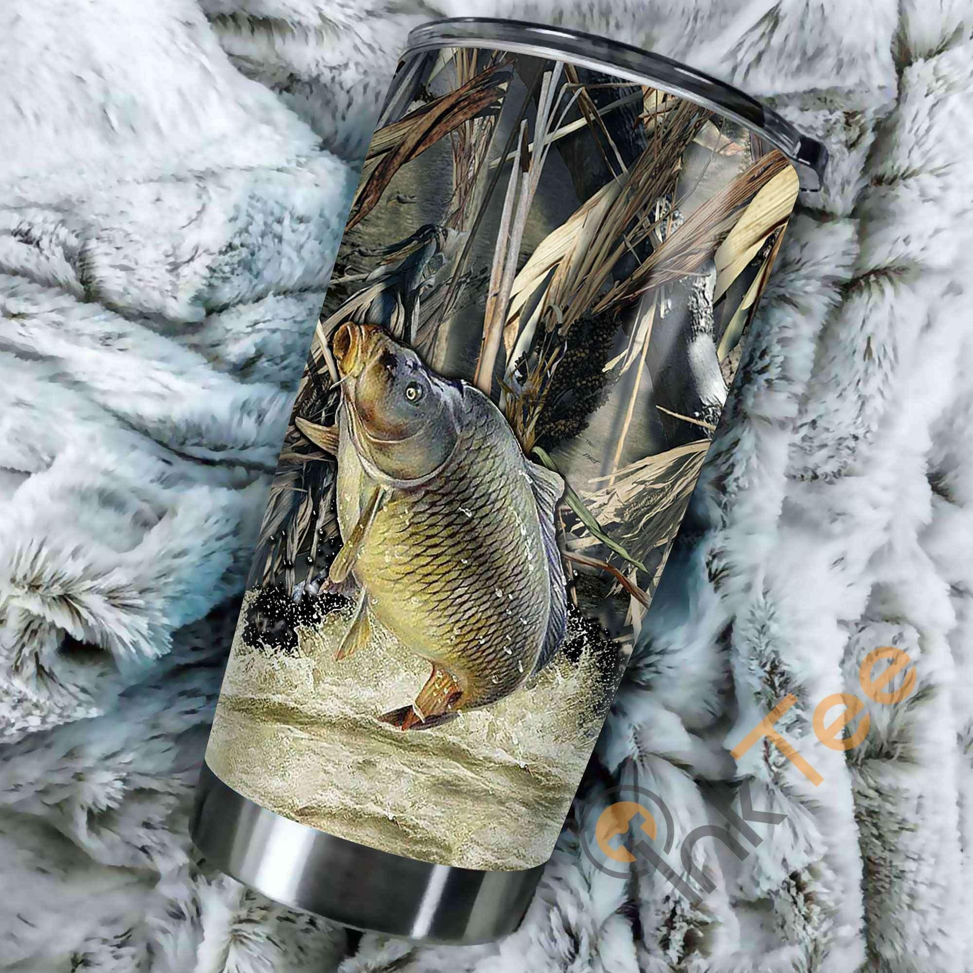 Carp Fishing Amazon Best Seller Sku 3757 Stainless Steel Tumbler
