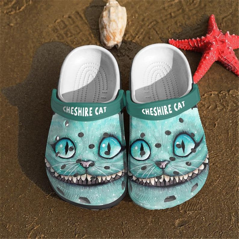 Cheshire Cat Comfortable For Mens And Womens Classic Water Crocs Clog Shoes