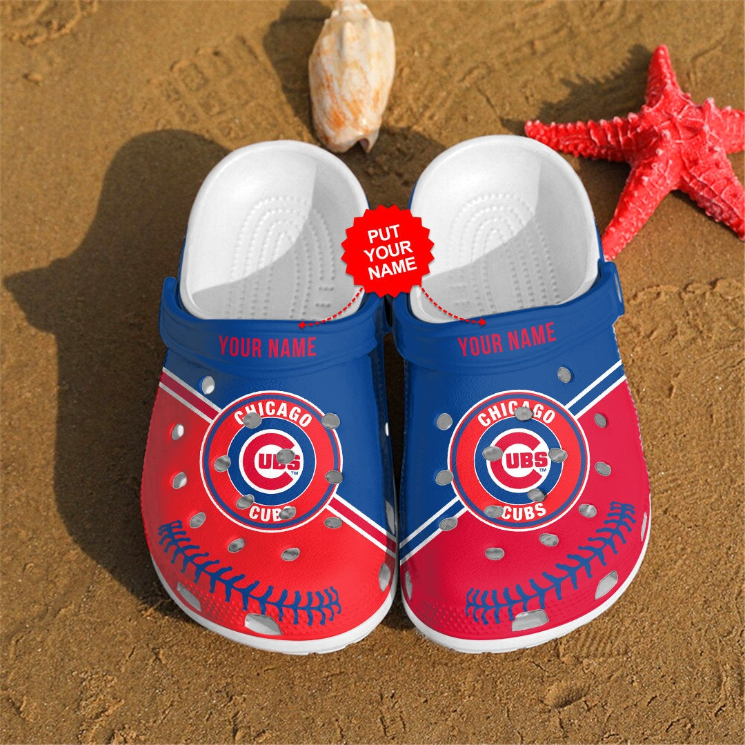 Chicago Cubs Personalized For Mlb Fans Crocs Clog Shoes