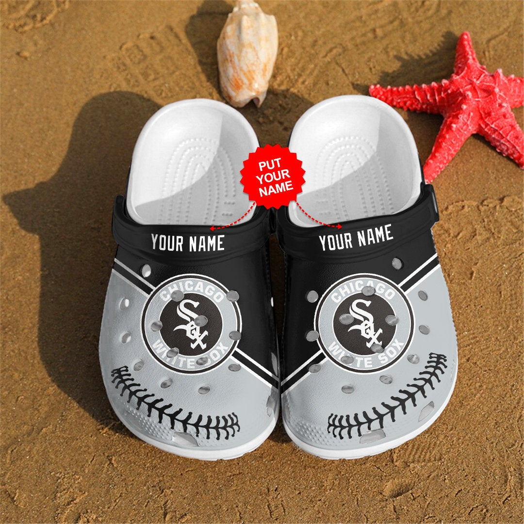 Chicago White Sox Personalized For Mlb Fans Crocs Clog Shoes