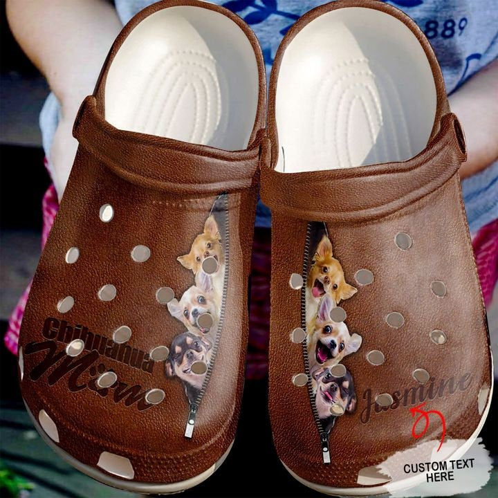 Chihuahua Personalized Animal Crocs Clog Shoes