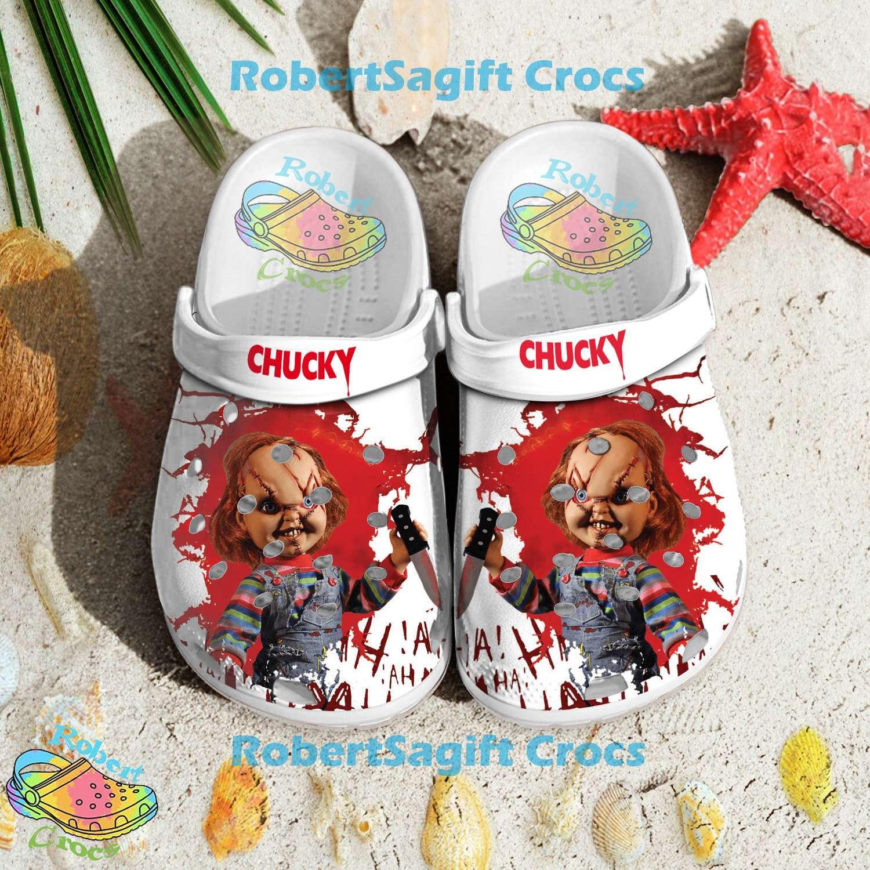 Child's Play Chucky Crocs Clog Shoes