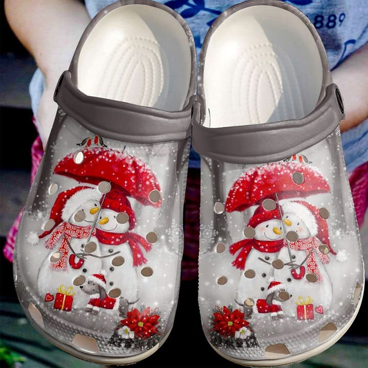 Christmas Personalized Merry Crocs Clog Shoes