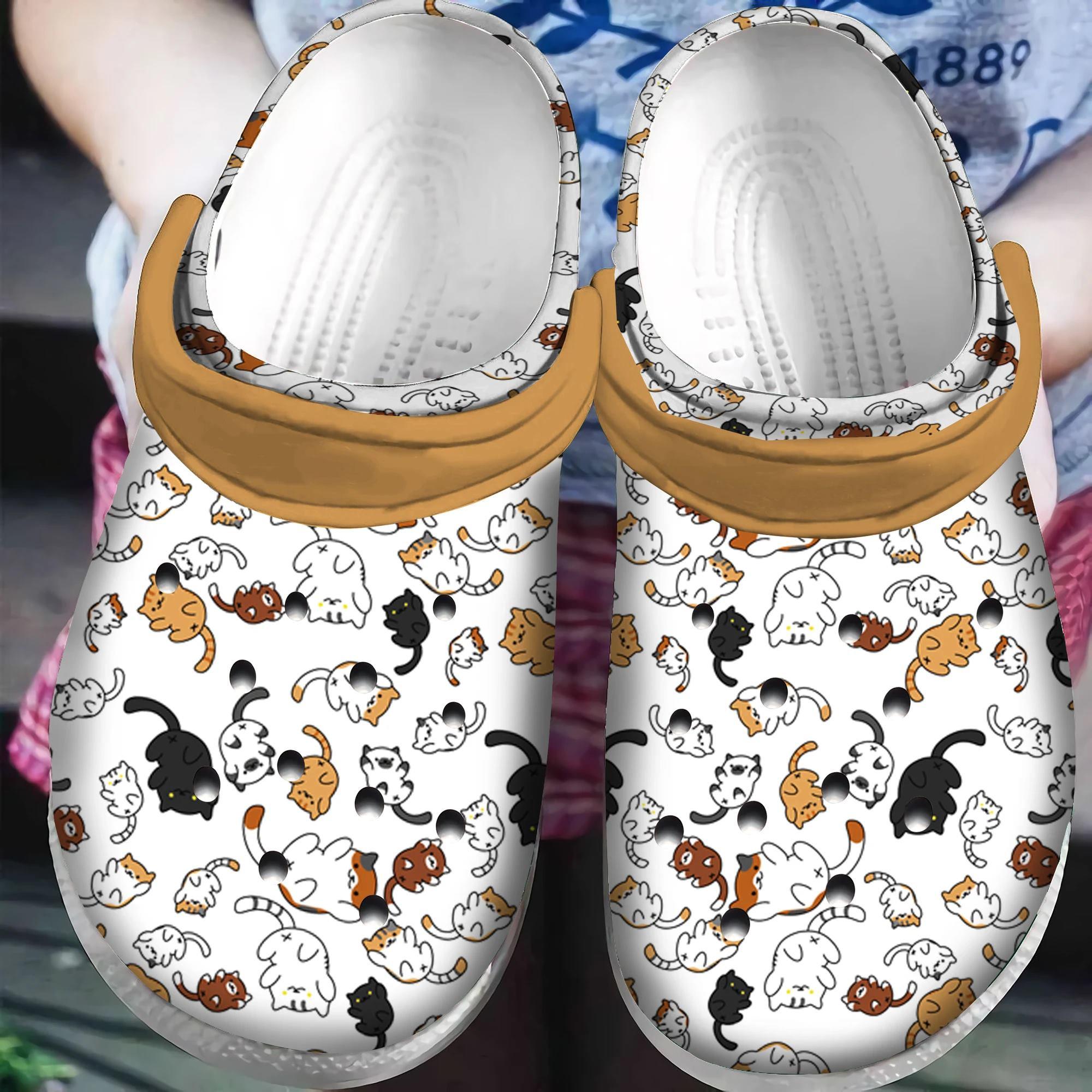 Clog Cats Crocs Clog Shoes