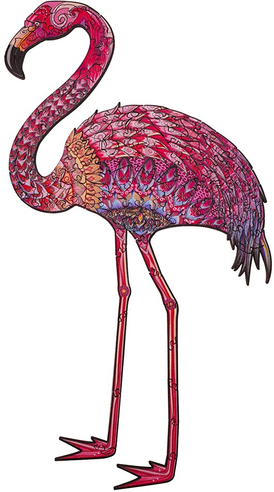 Colorful Flamingo Jigsaw Puzzle