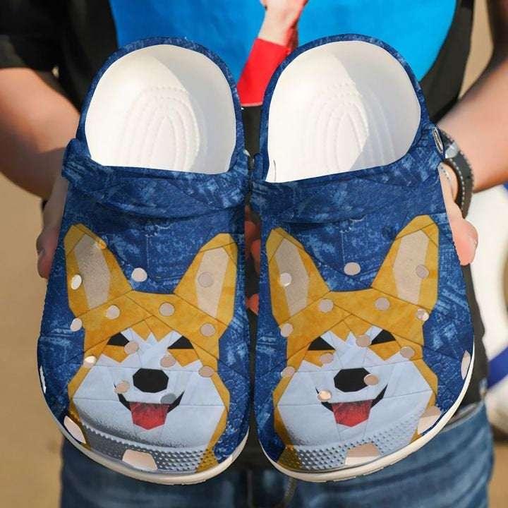 Corgi Dog Animal Crocs Clog Shoes