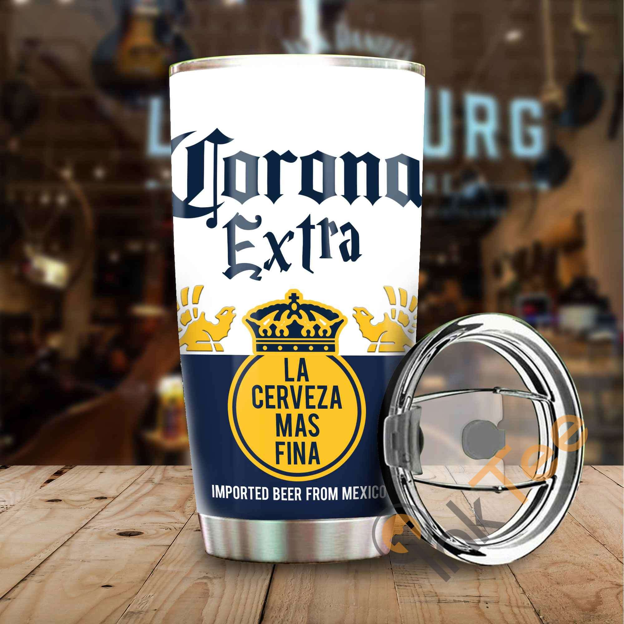 Corona Beer Amazon Best Seller Sku 3574 Stainless Steel Tumbler