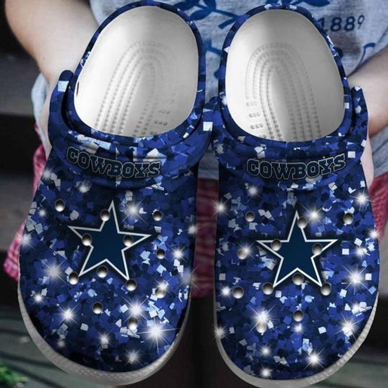 Dallas Cowboy Crocs Clog Shoes