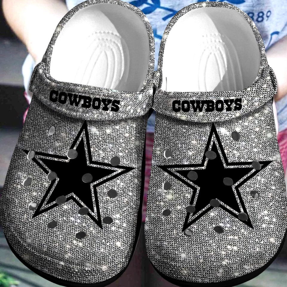 Dallas Cowboys Crocs Clog Shoes
