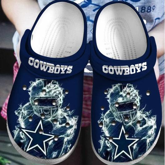 Dallas Cowboys Crocs Clog Shoes