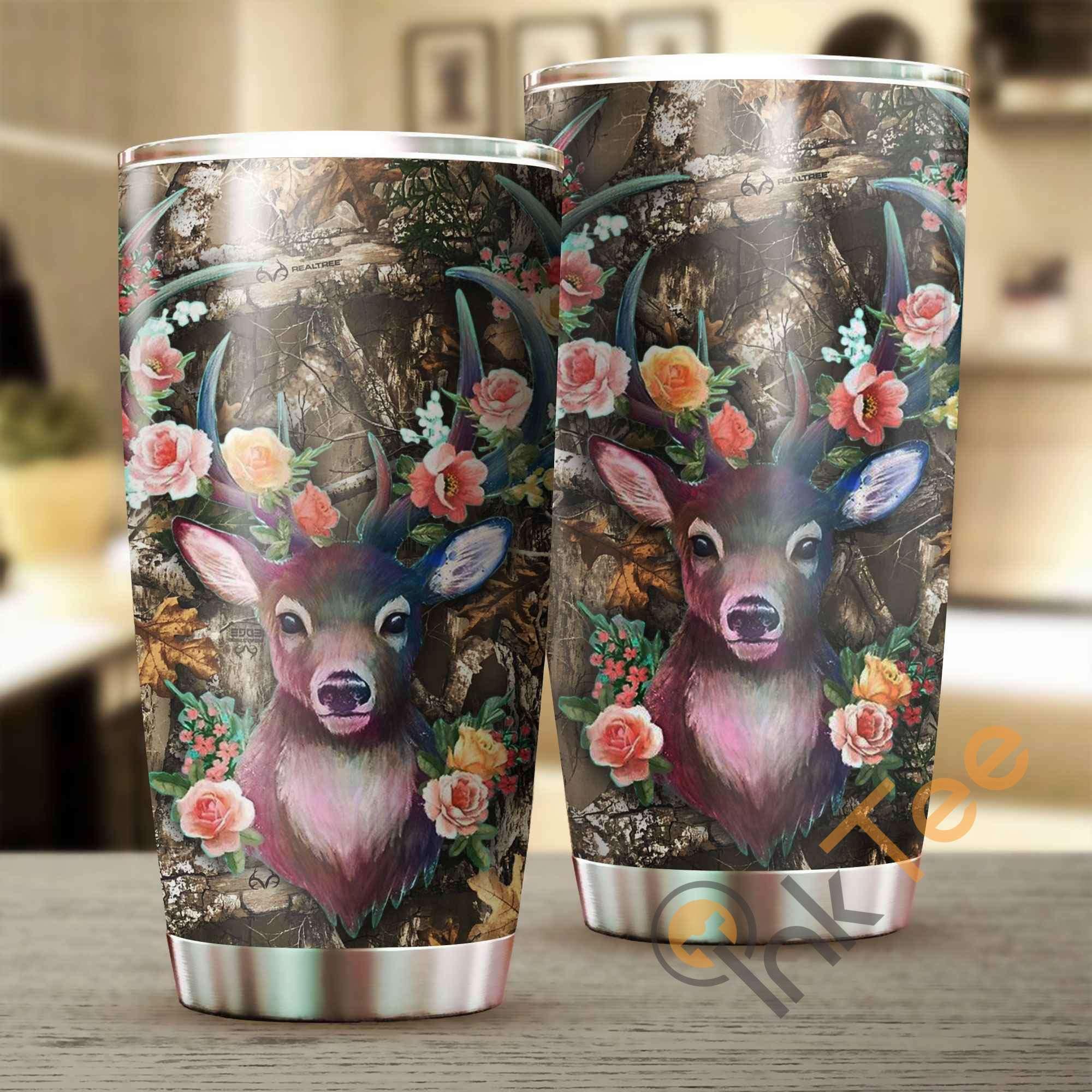 Deer Hunting Amazon Best Seller Sku 3437 Stainless Steel Tumbler