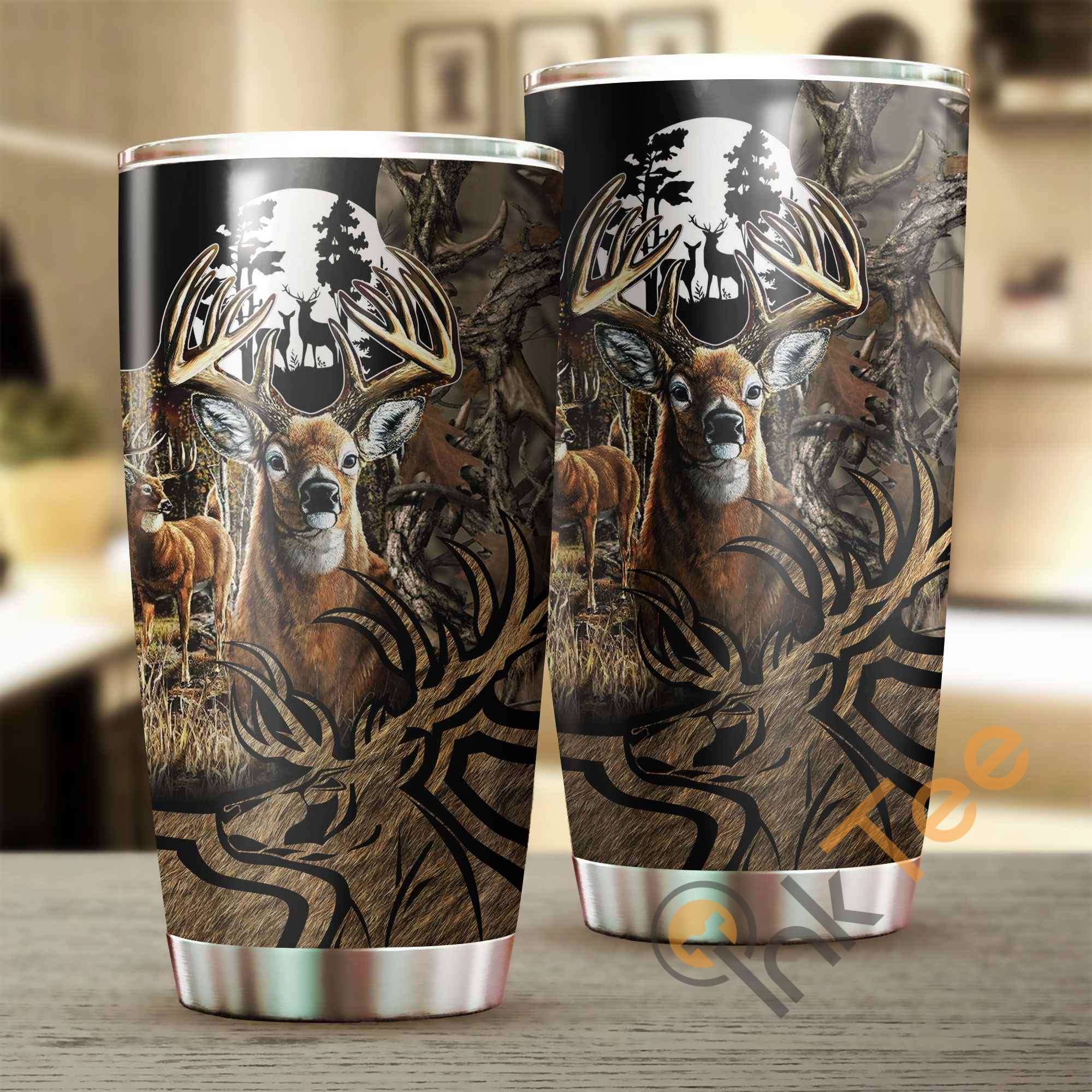 Deer Hunting Amazon Best Seller Sku 3652 Stainless Steel Tumbler