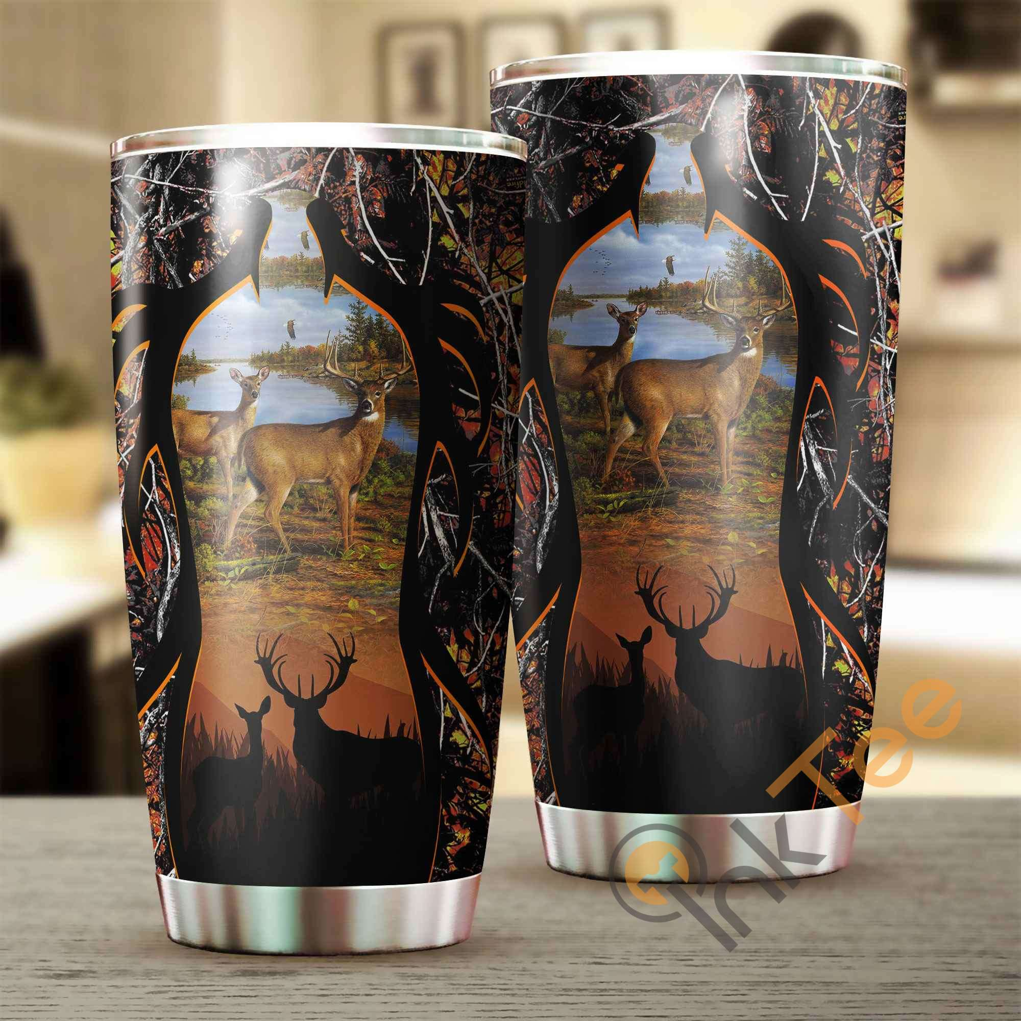 Deer Hunting Amazon Best Seller Sku 3686 Stainless Steel Tumbler